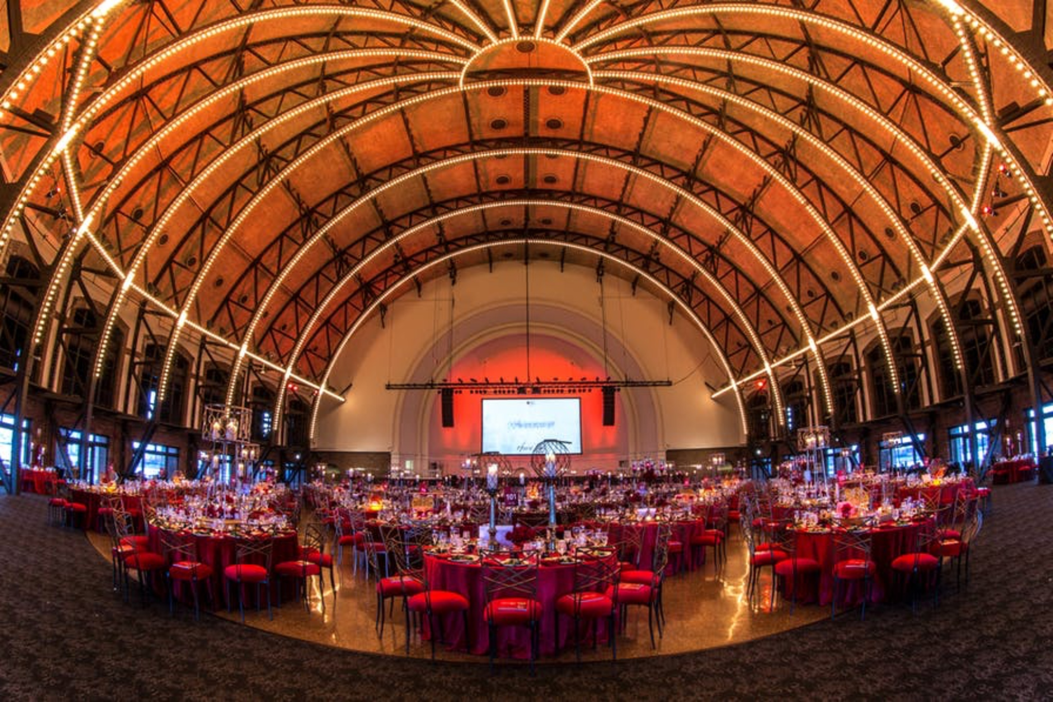 Event space with domed ceiling at Navy Pier in Chicago
