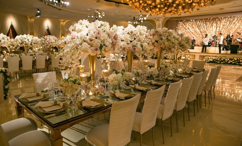 beverly hills hotel ballroom wedding