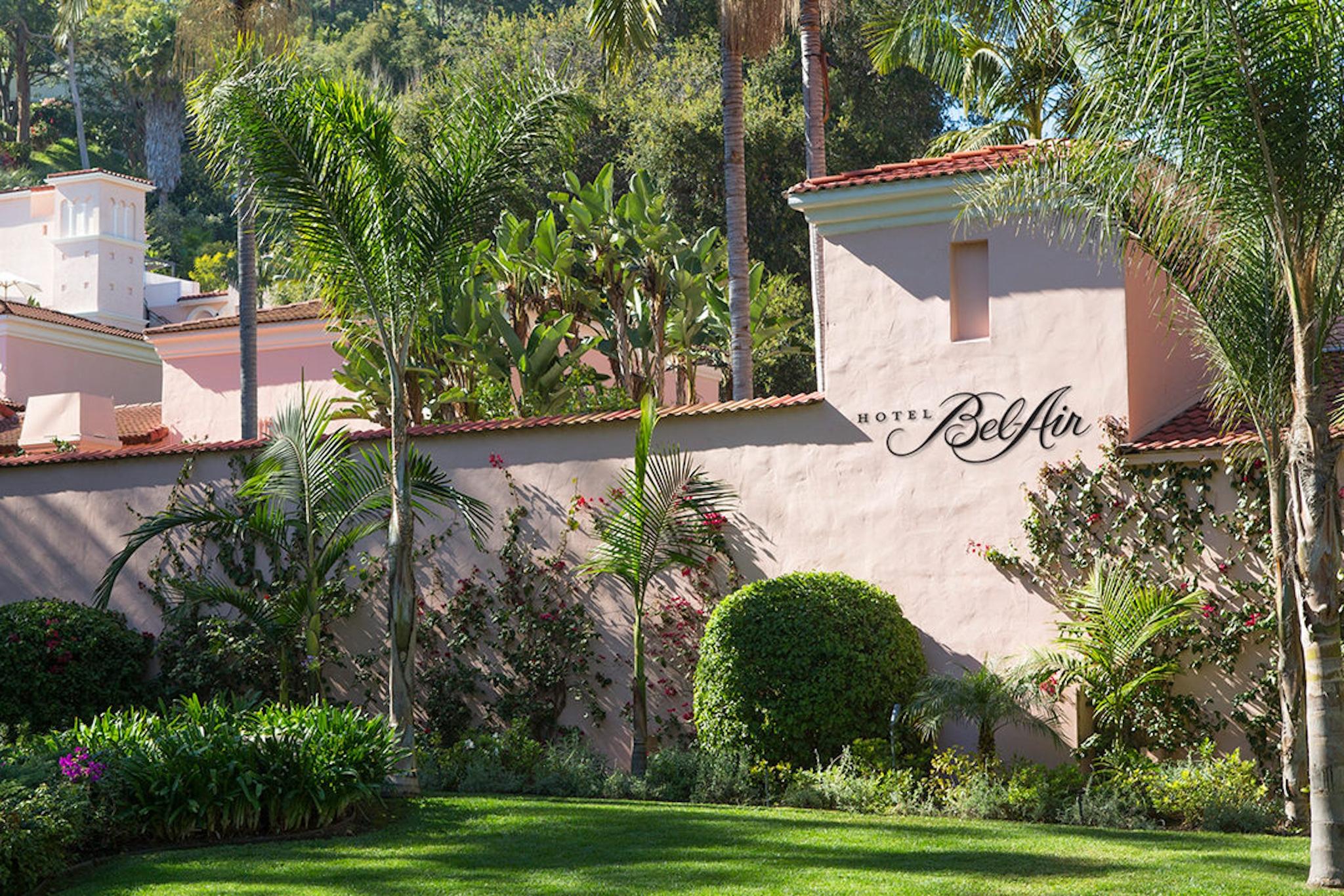 Historic Los Angeles Hotels - Hotel Bel-Air