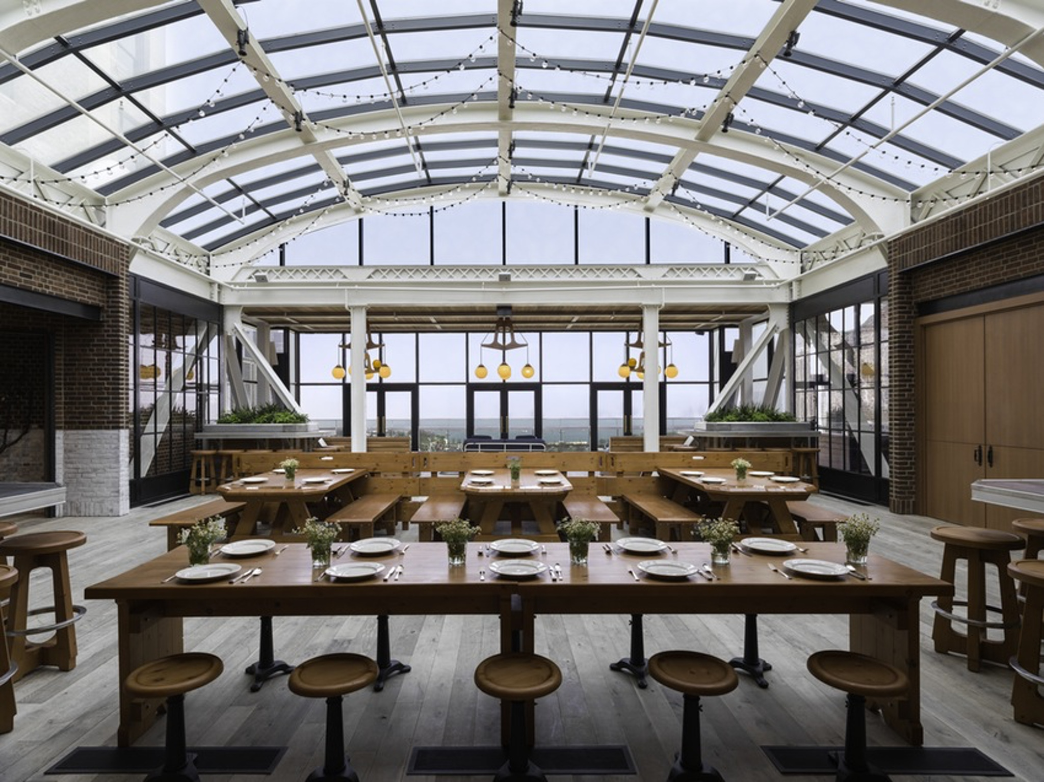 Chicago venues for a wedding rehearsal dinner - Cindy's Rooftop