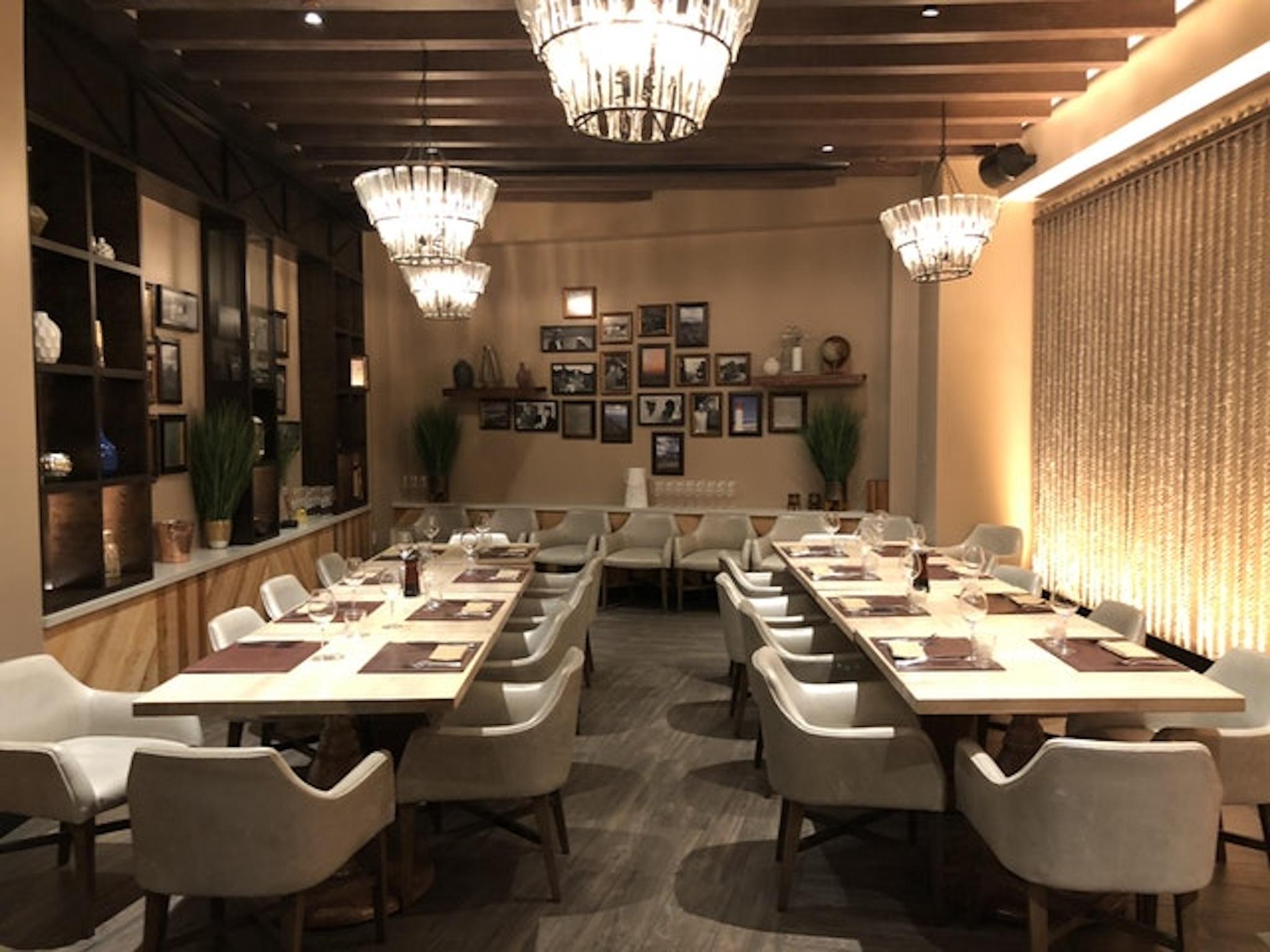 Dining room at Big Easy Winebar & Grill