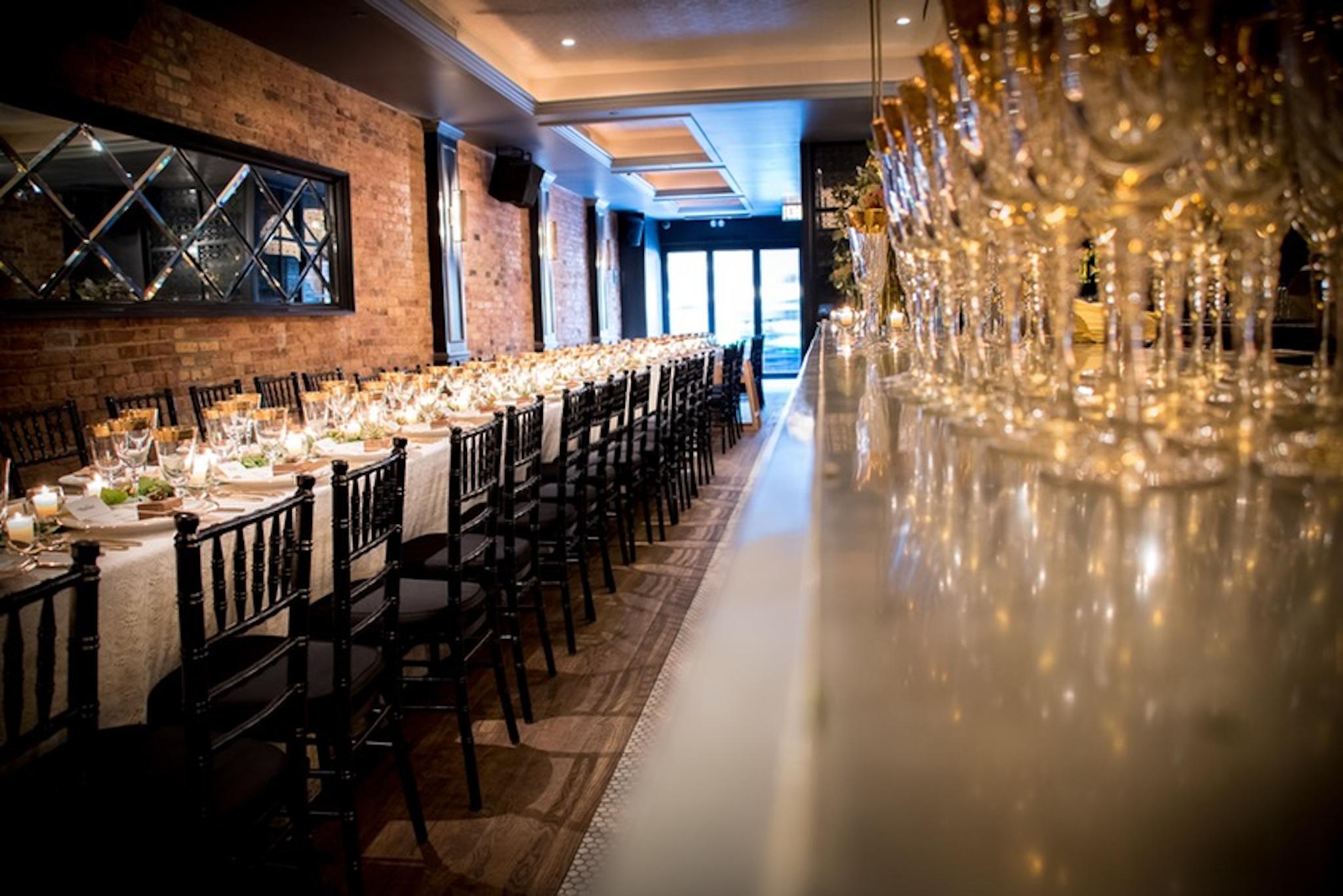 Chicago wedding venues for a rehearsal dinner - Celeste