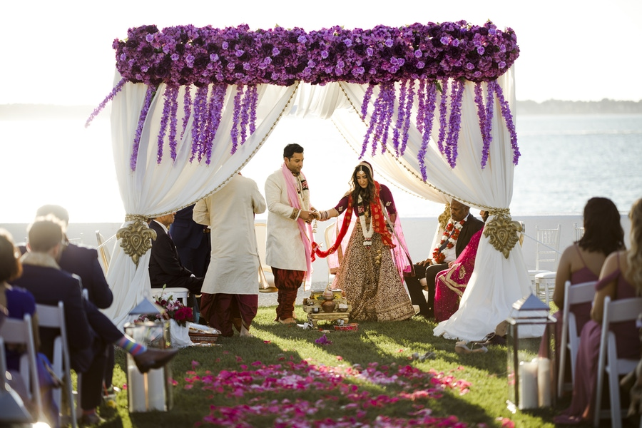 Indian wedding arch