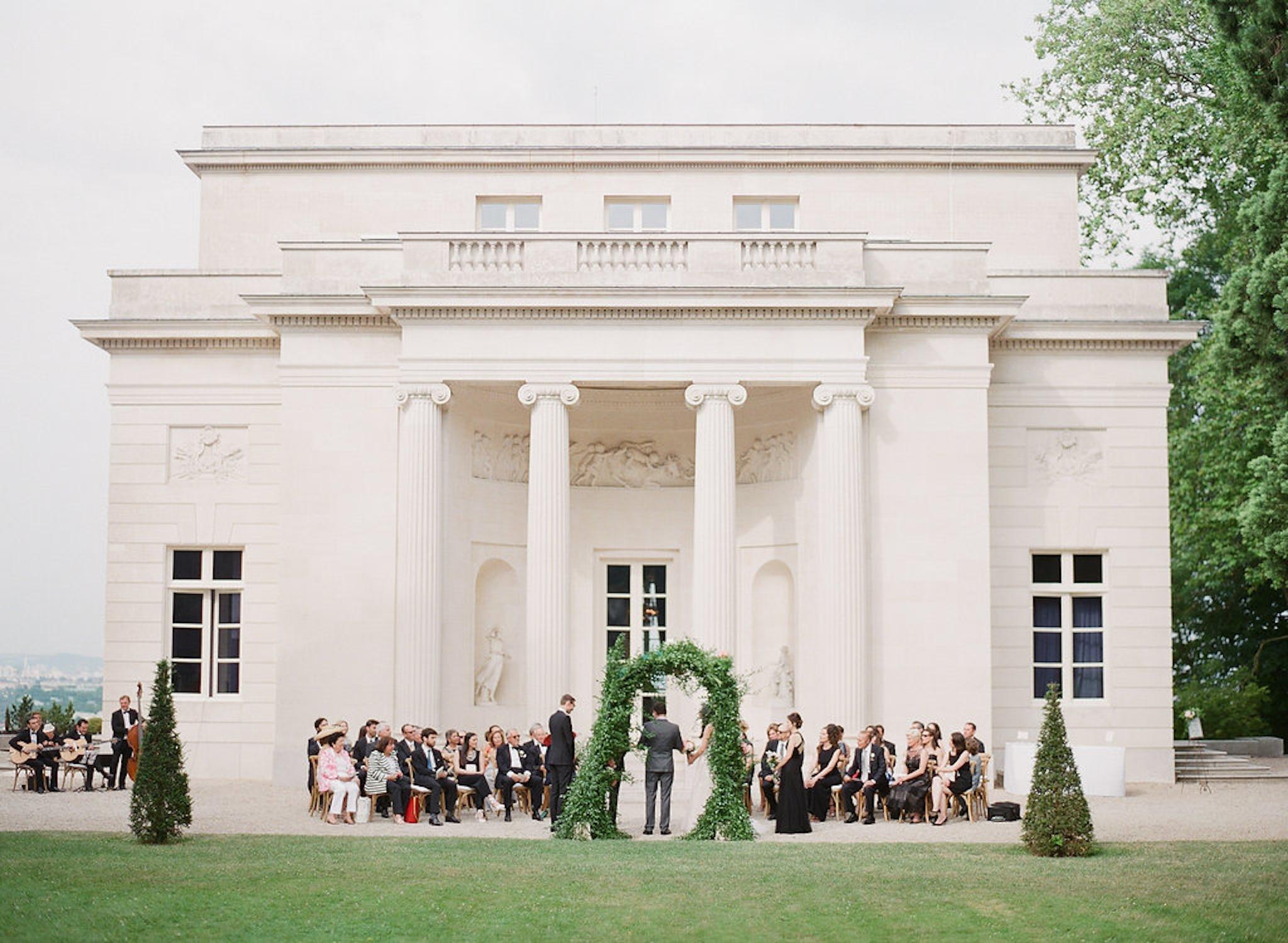 vintage chateau wedding