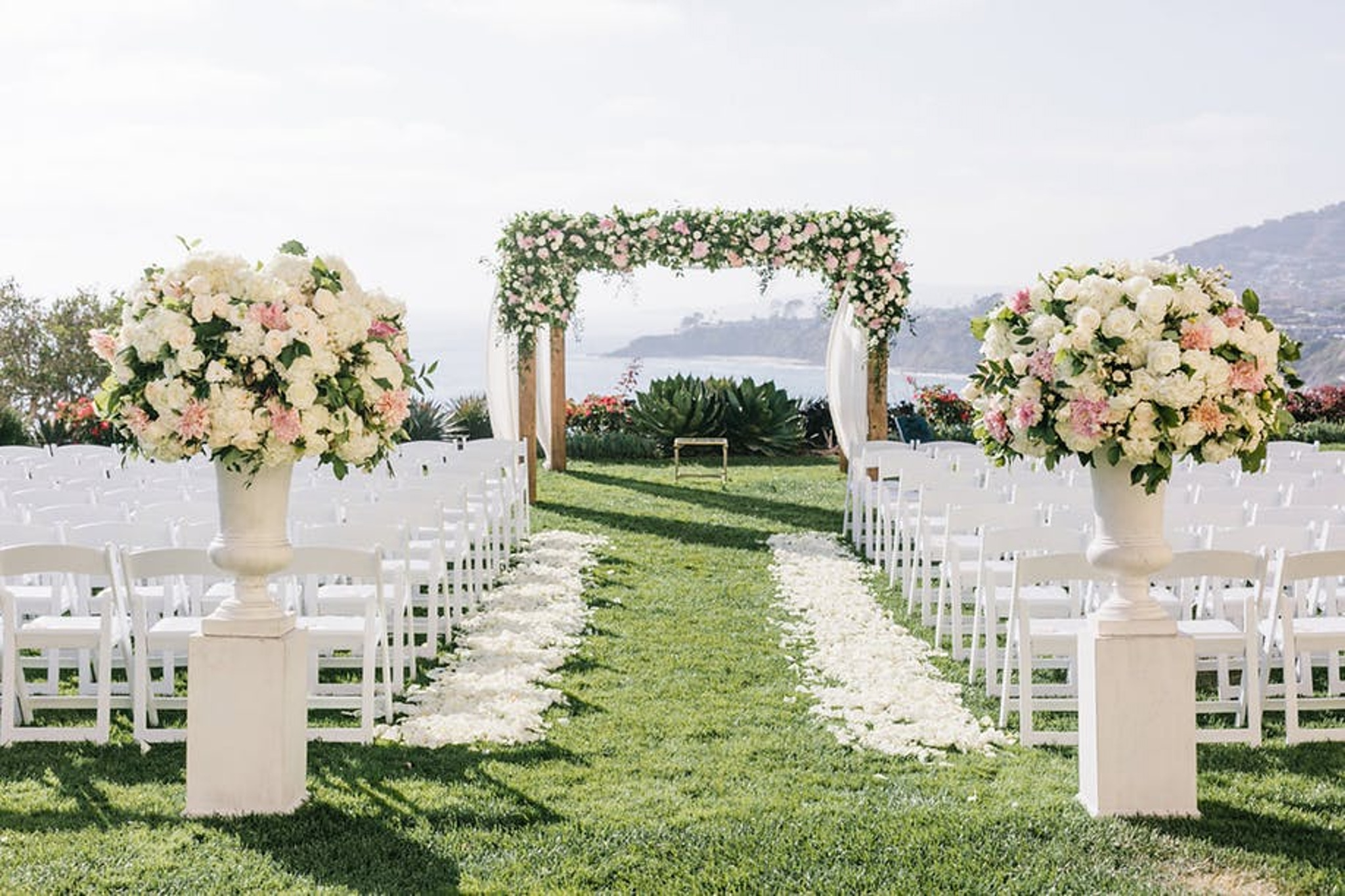 Outdoor wedding venue at The Ritz-Carlton, Laguna Niguel
