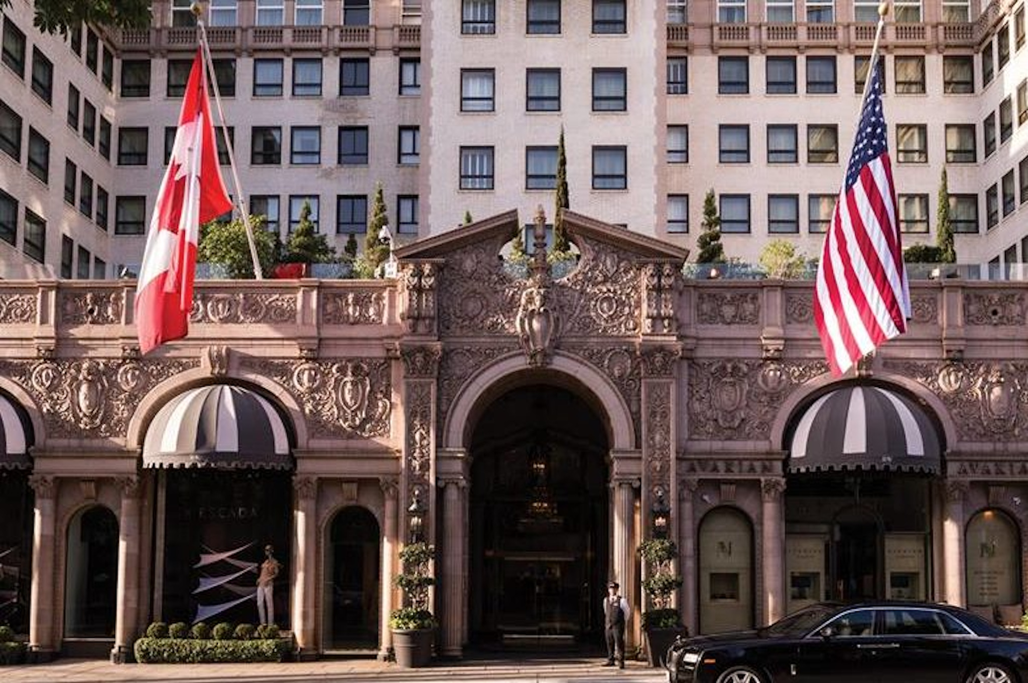 Historic Los Angeles Venue The Beverly Wilshire Hotel
