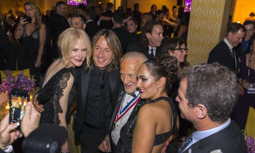 Guests at HBO Golden Globes party at the Beverly Hilton