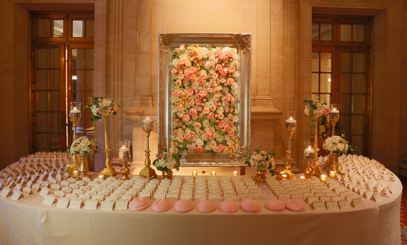 Place Card Table designs from Yanni Design Studio
