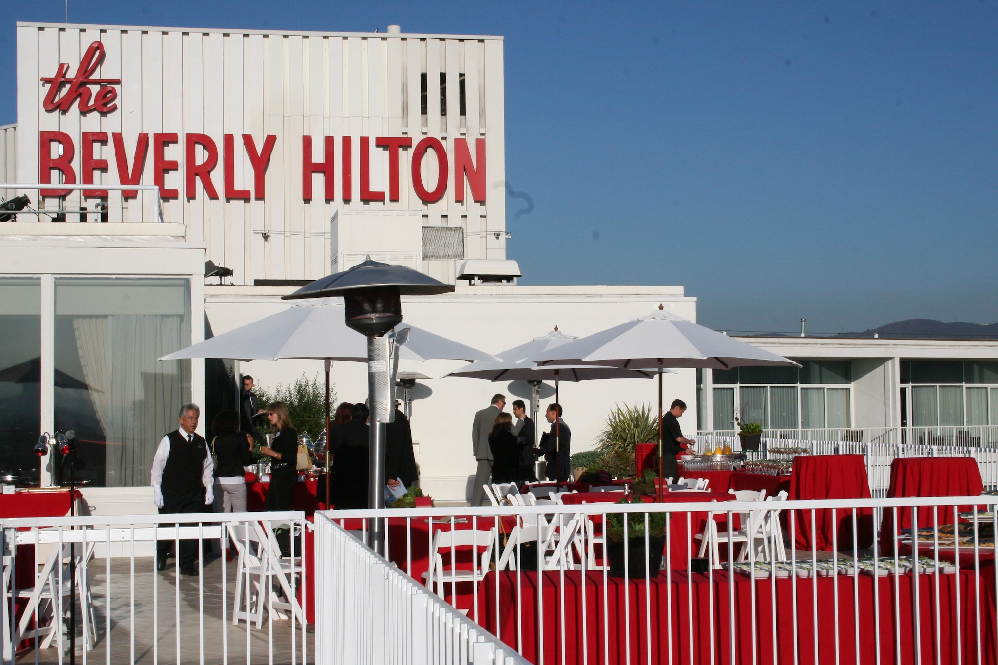 Historic Hotel The Beverly Hilton located in Los Angeles