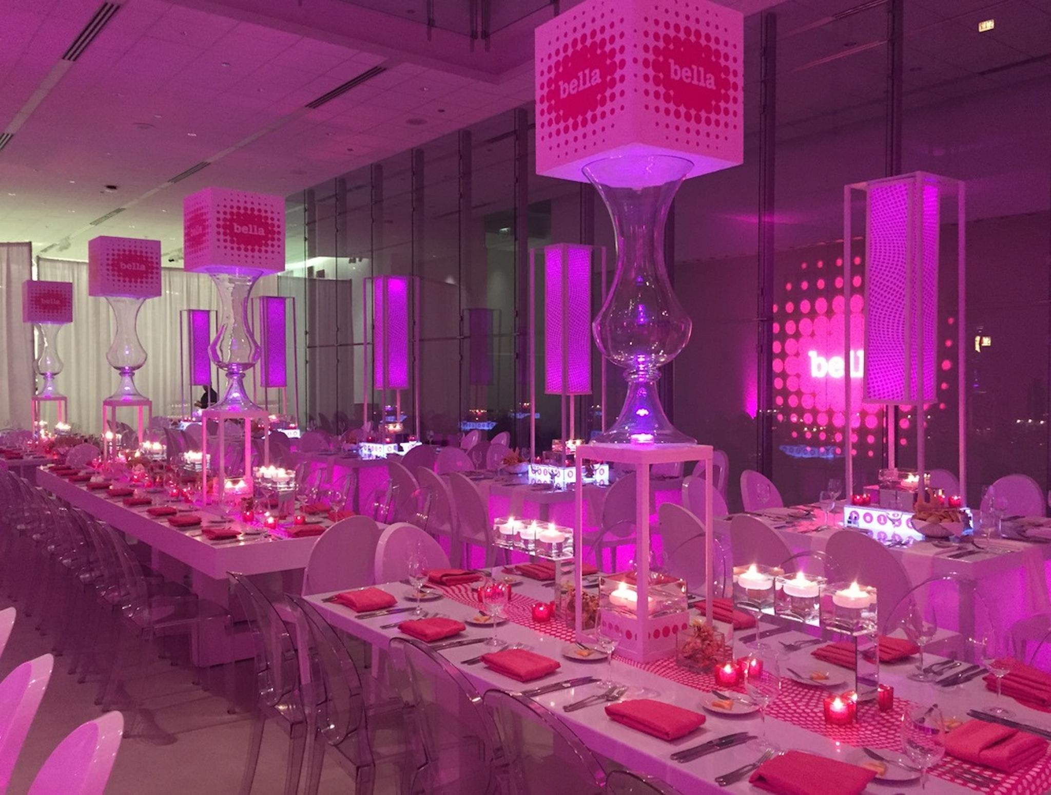 Pretty In Pink Bat Mitzvah Theme