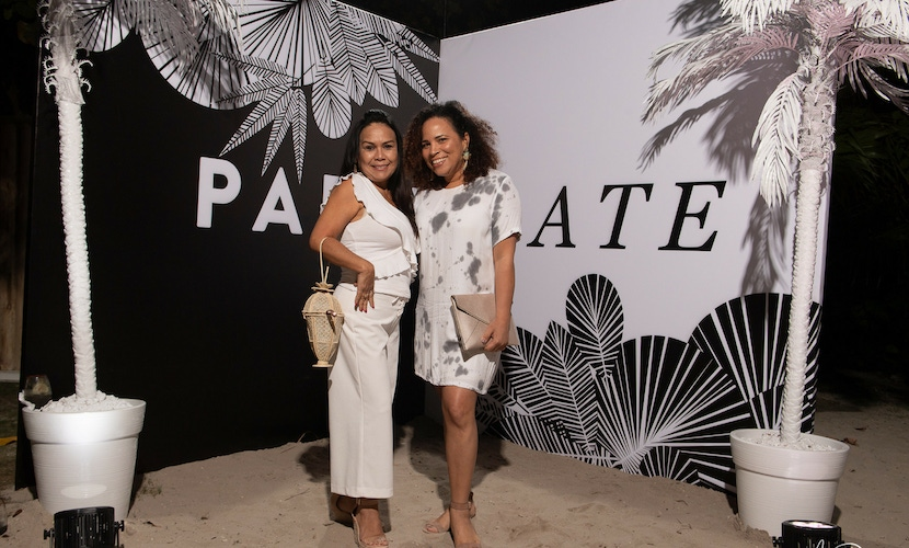 Guests at PartySlate's Miami launch party