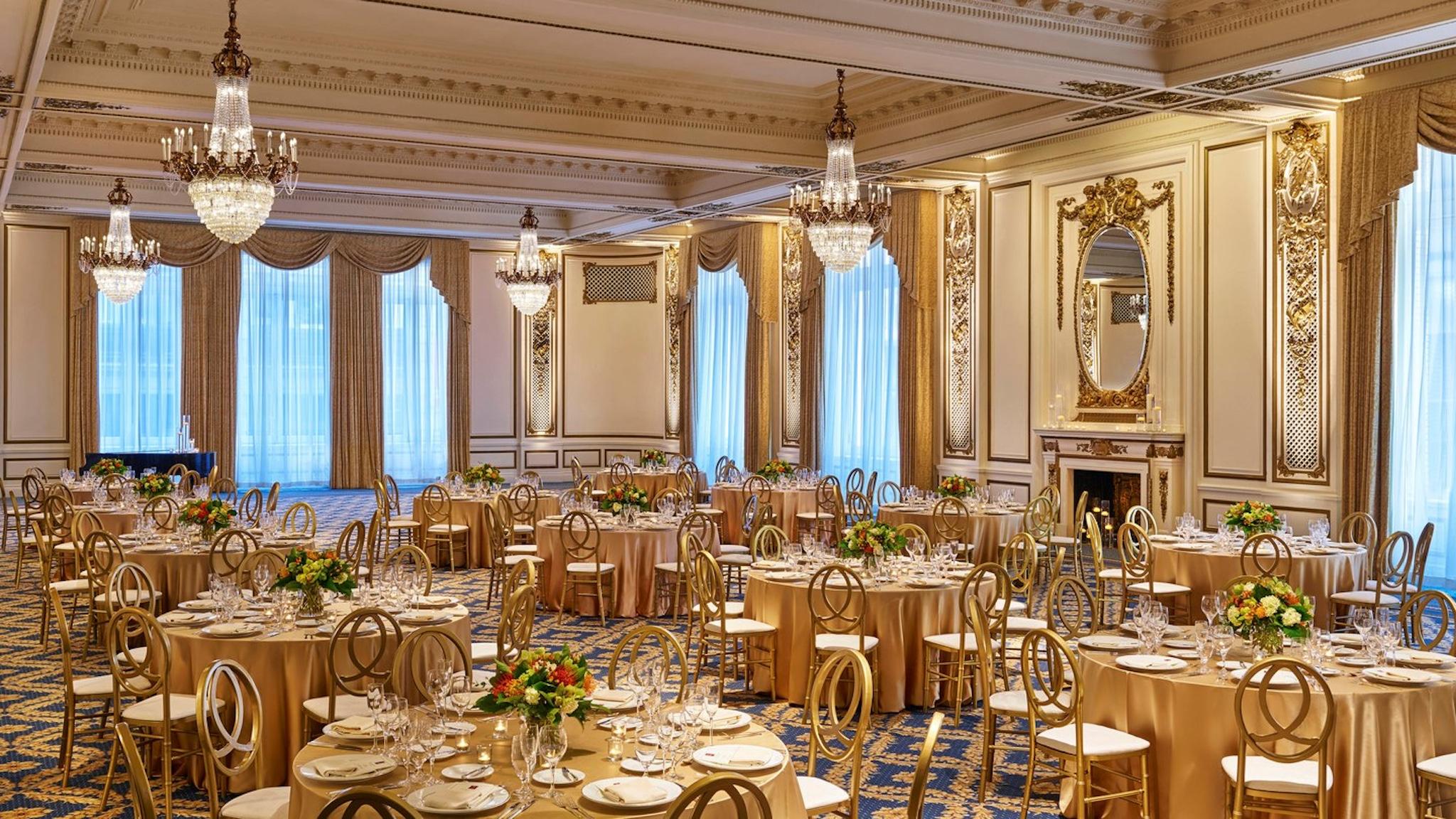 Palace Hotel San Francisco Grand Ballroom