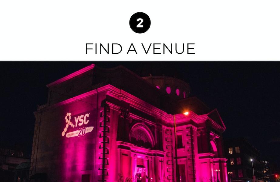 find a venue