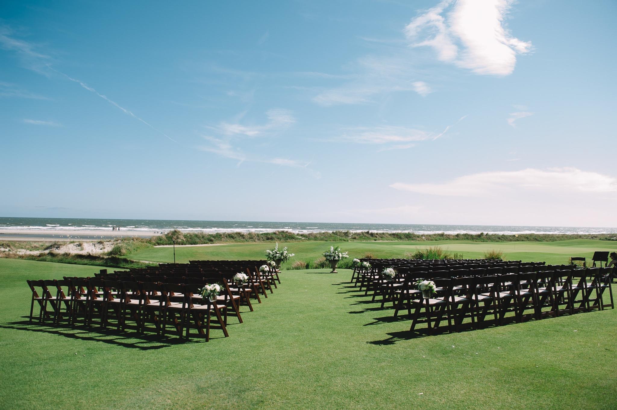 Seaside Kiawah Island Resort on golf course