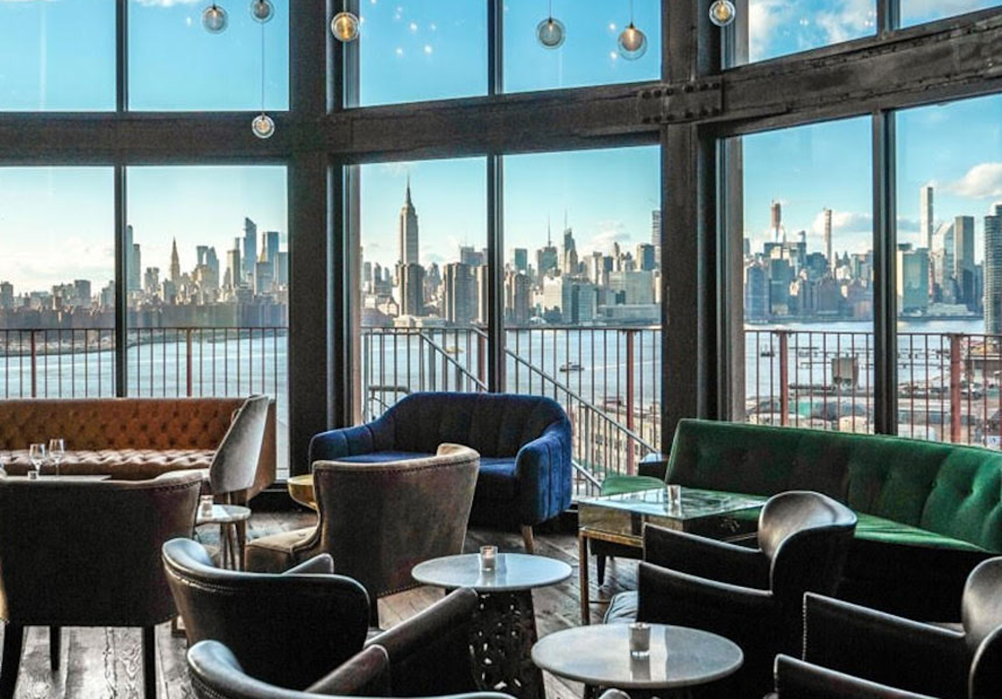 The Water Tower at the Williamsburg Hotel includes a 360-degree view of New York