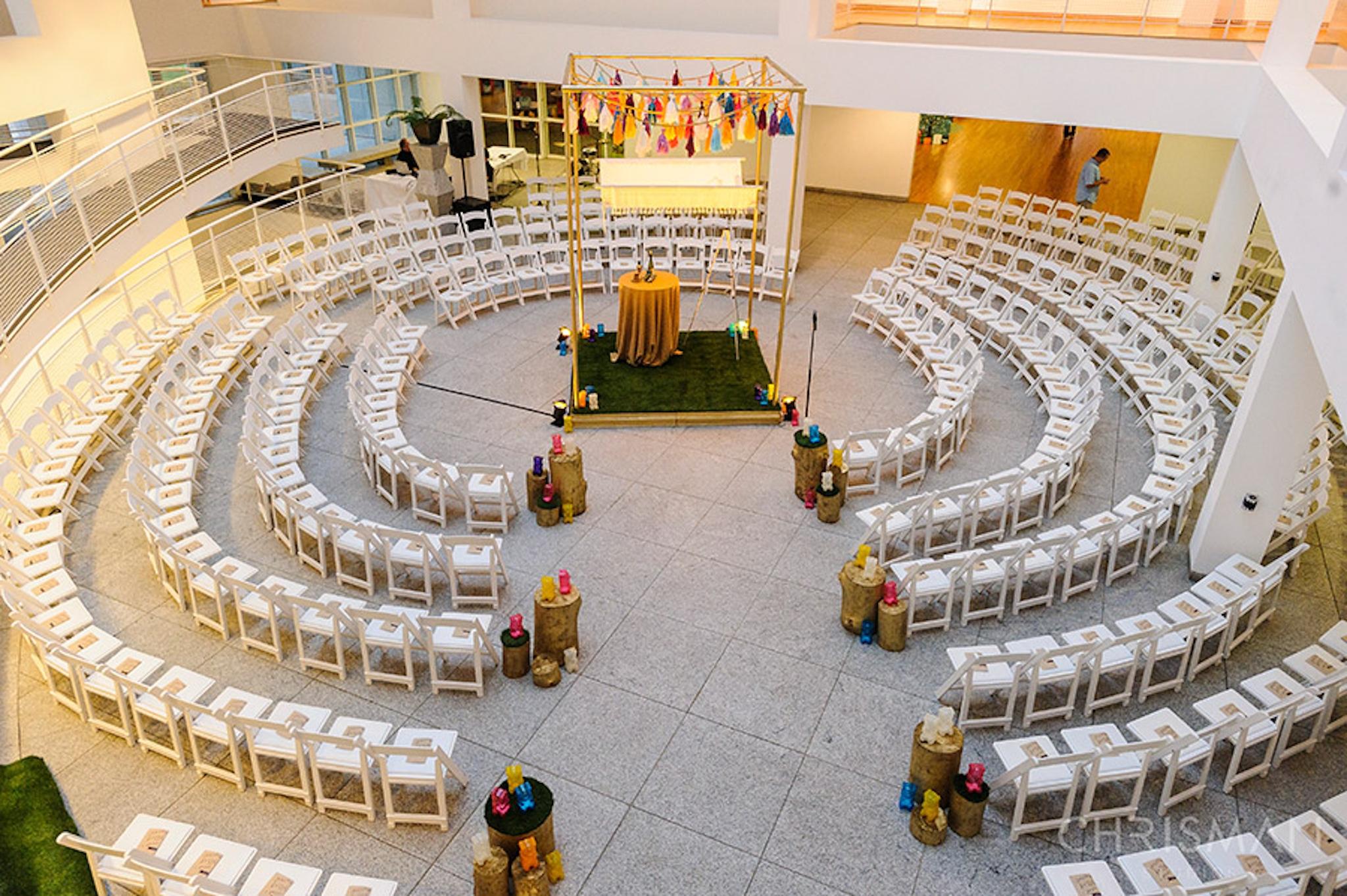 Woodruff Art Center Atlanta wedding