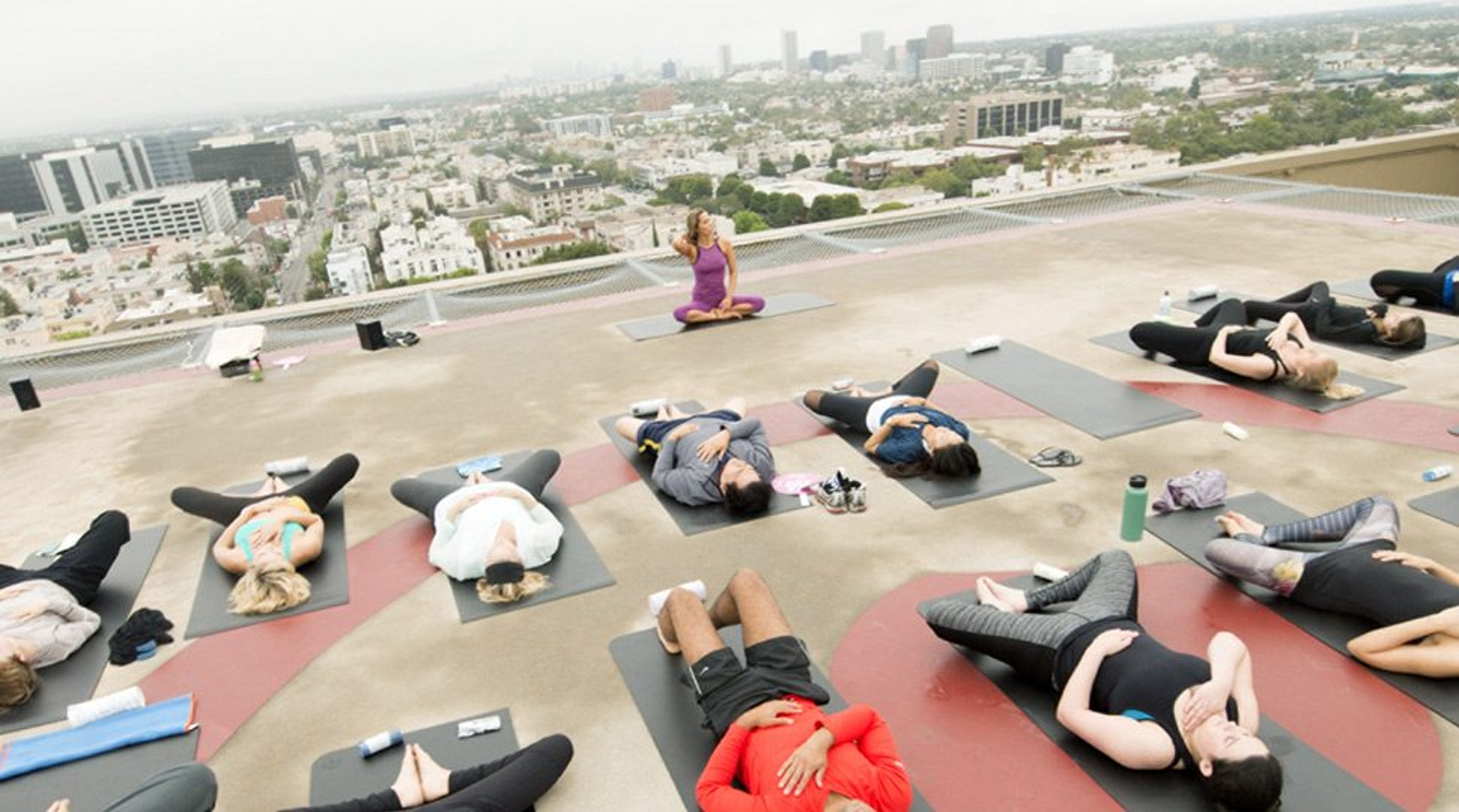 Rooftop Helipad, Four Seasons Hotel Los Angeles at Beverly Hills
