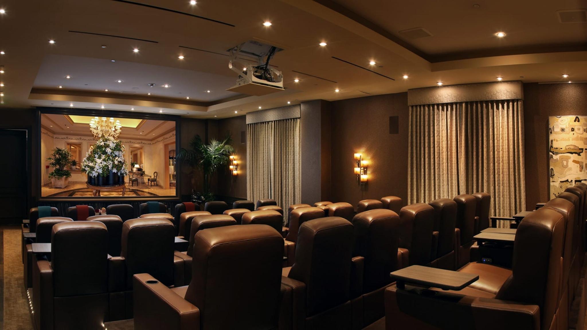 Screening Room, Four Seasons Los Angeles at Beverly Hills