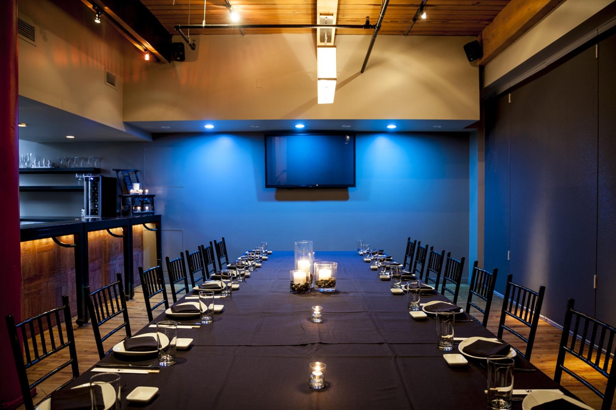 Banquet Bar Party Room at Sunda New Asian Chicago