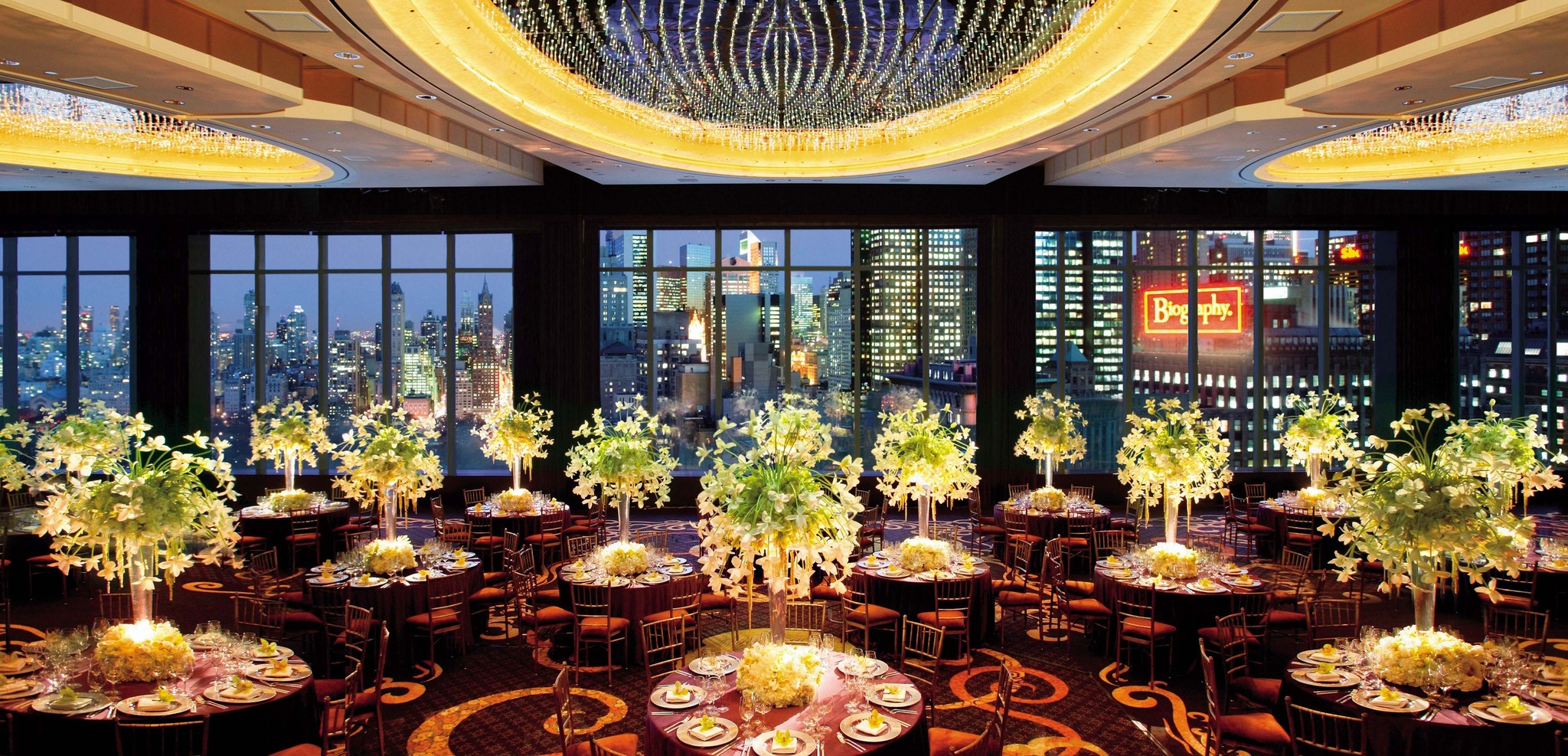 The Mandarin Ballroom at Mandarin Oriental, New York