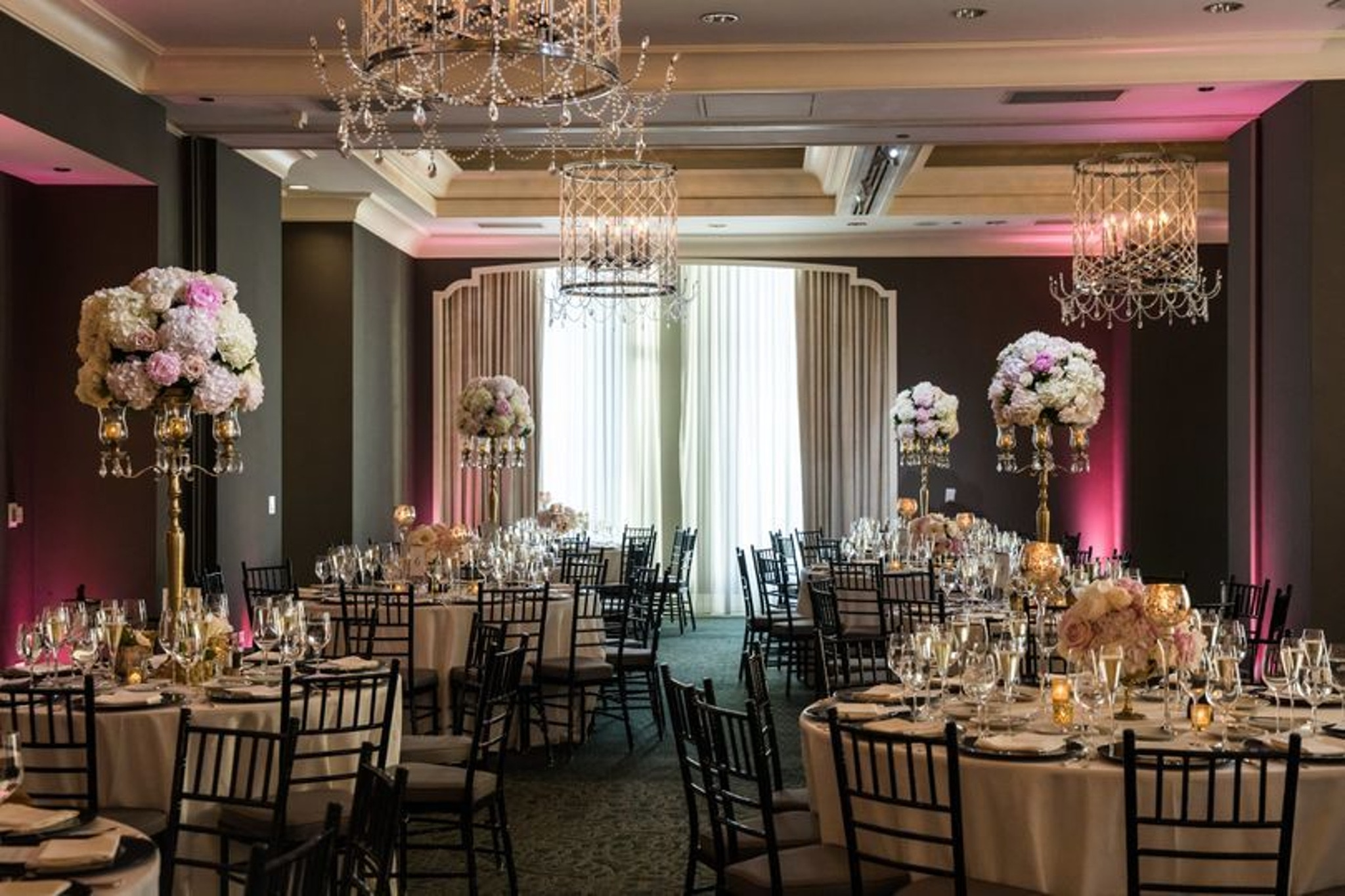 Astor Ballroom party at the Waldorf Astoria Beverly Hills