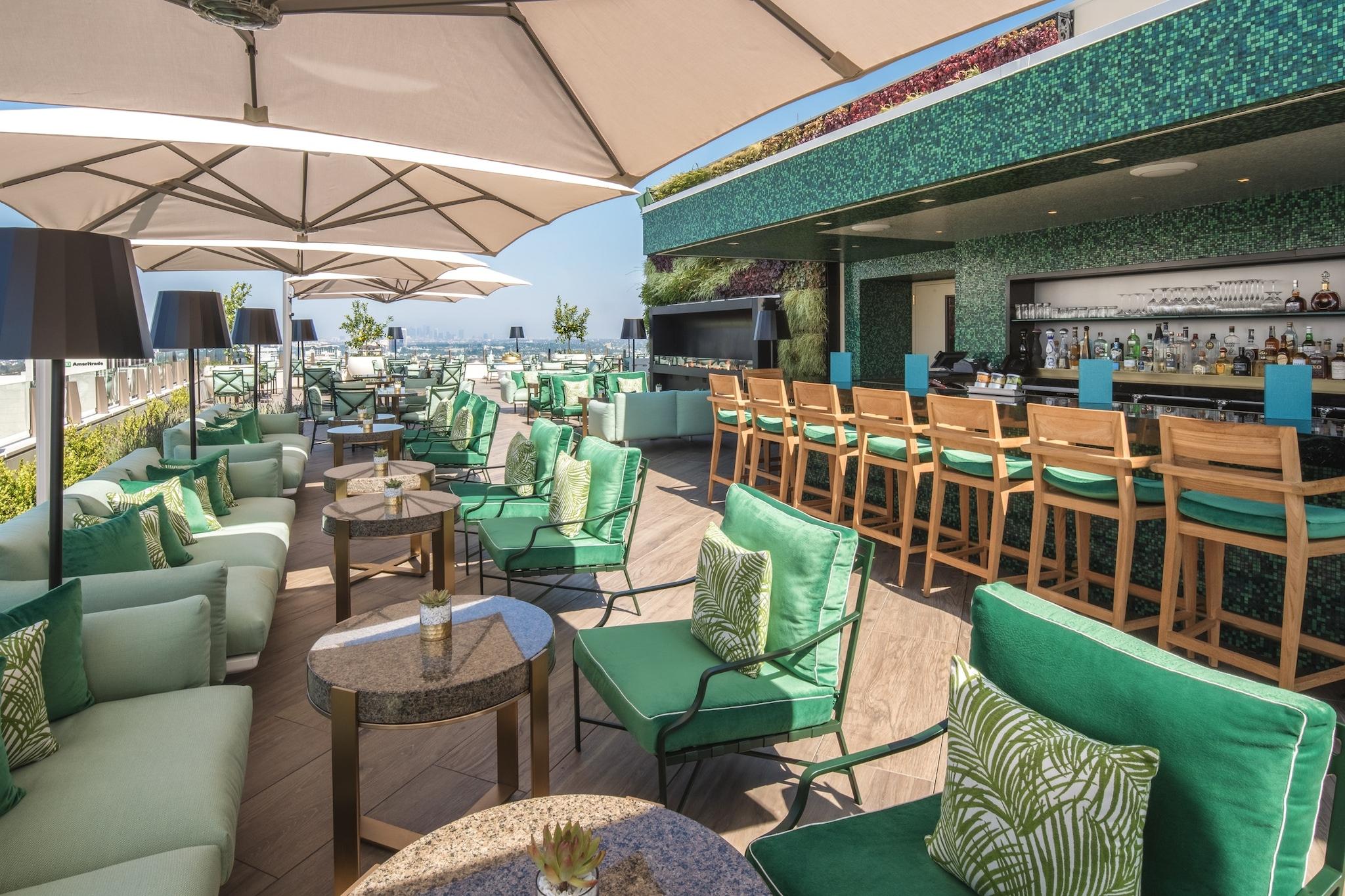 Rooftop by JG, Waldorf Astoria Beverly Hills