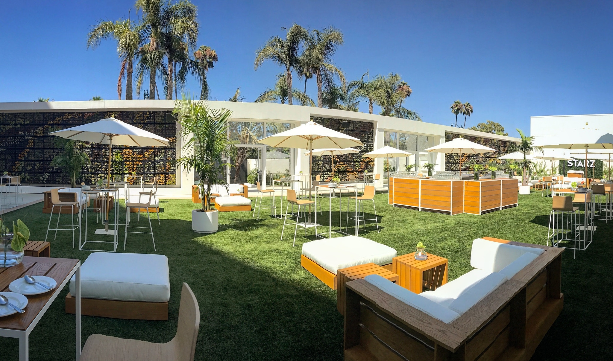 The Gardens, The Beverly Hilton