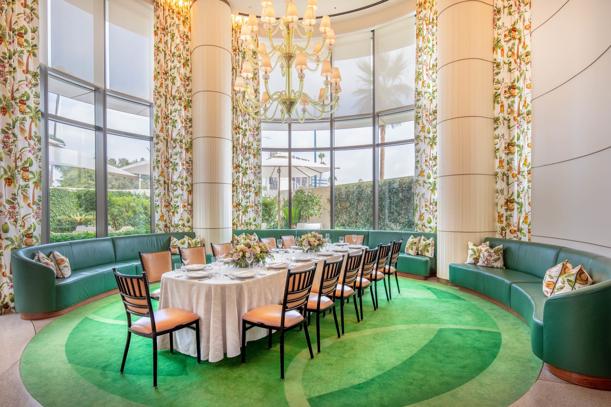 Jean- Georges Sway Private Dining Room at the Waldorf Astoria Beverly Hills