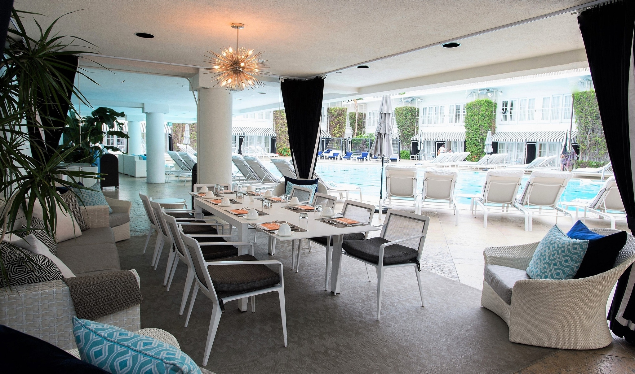 Circa 55, The Beverly Hilton