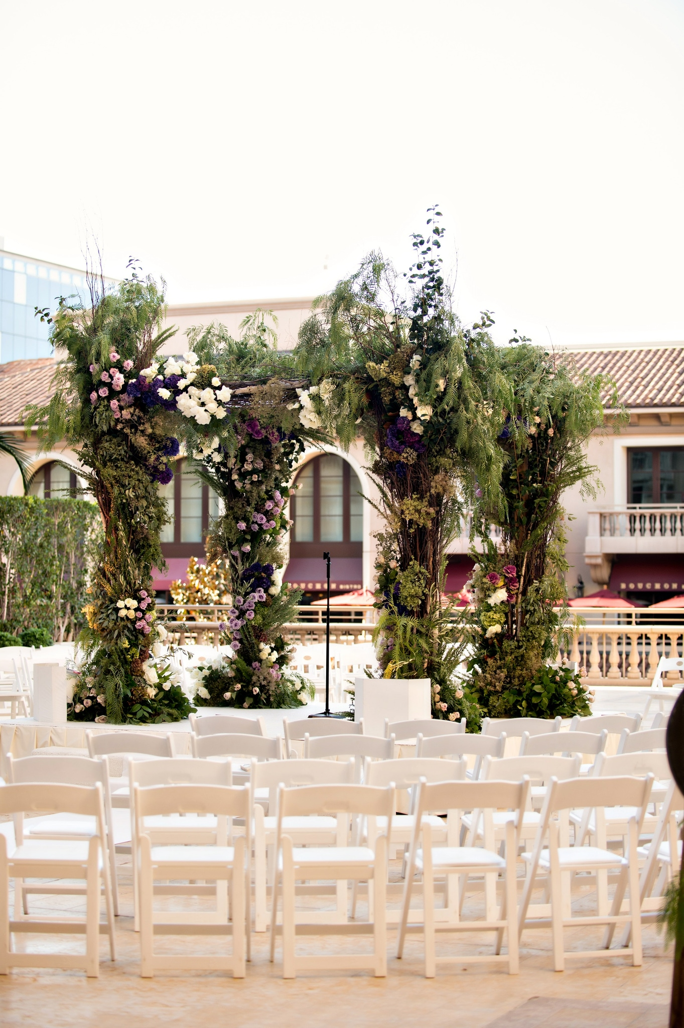 Montage Terrace wedding at the Montage Beverly Hills