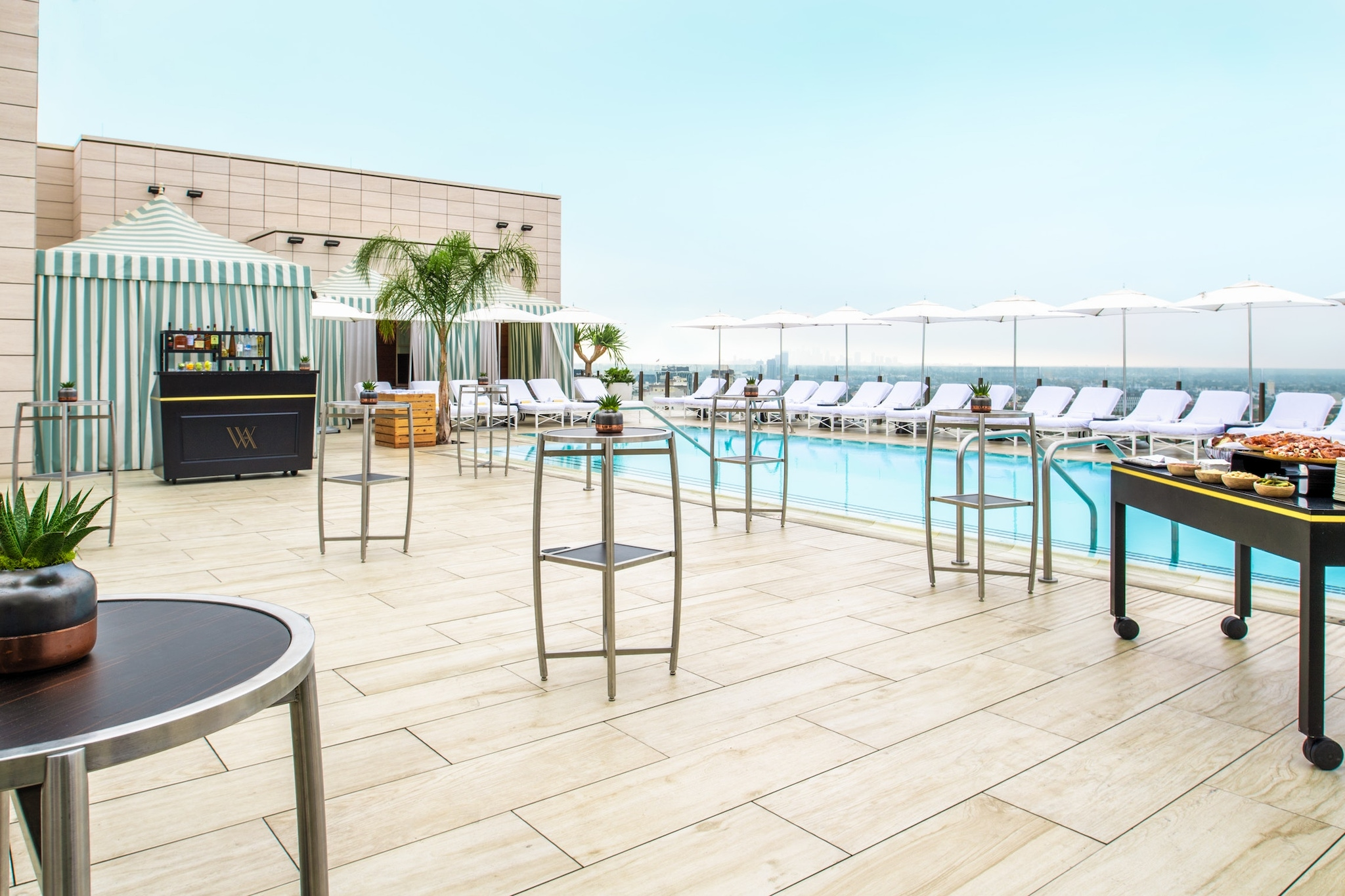 Rooftop at the Waldorf Astoria Beverly Hills