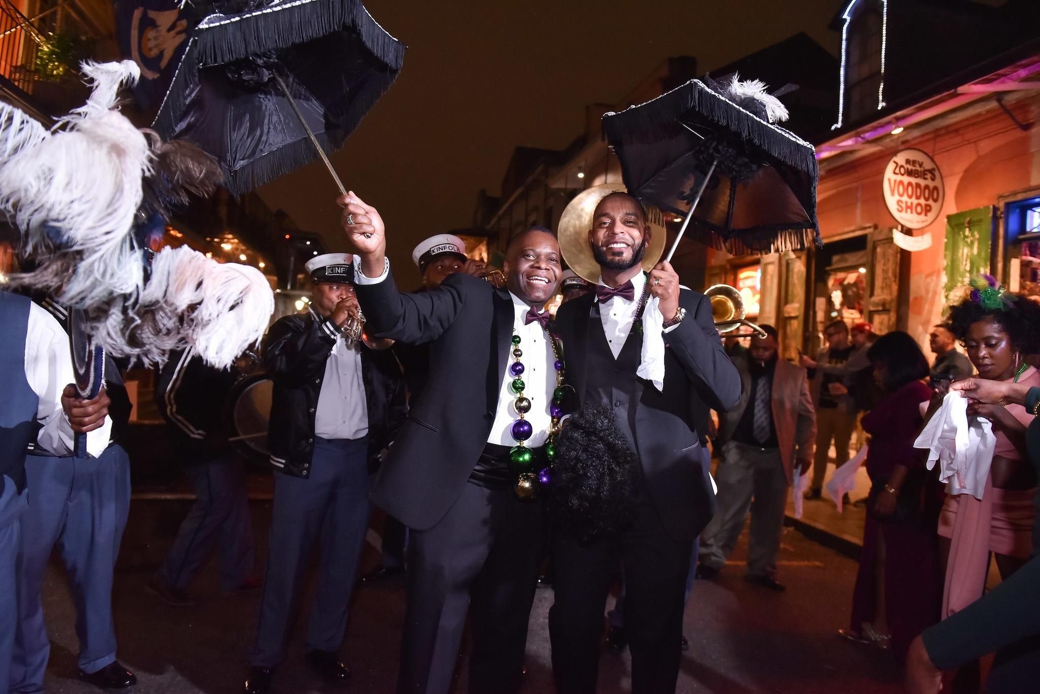 New Orleans same-sex wedding