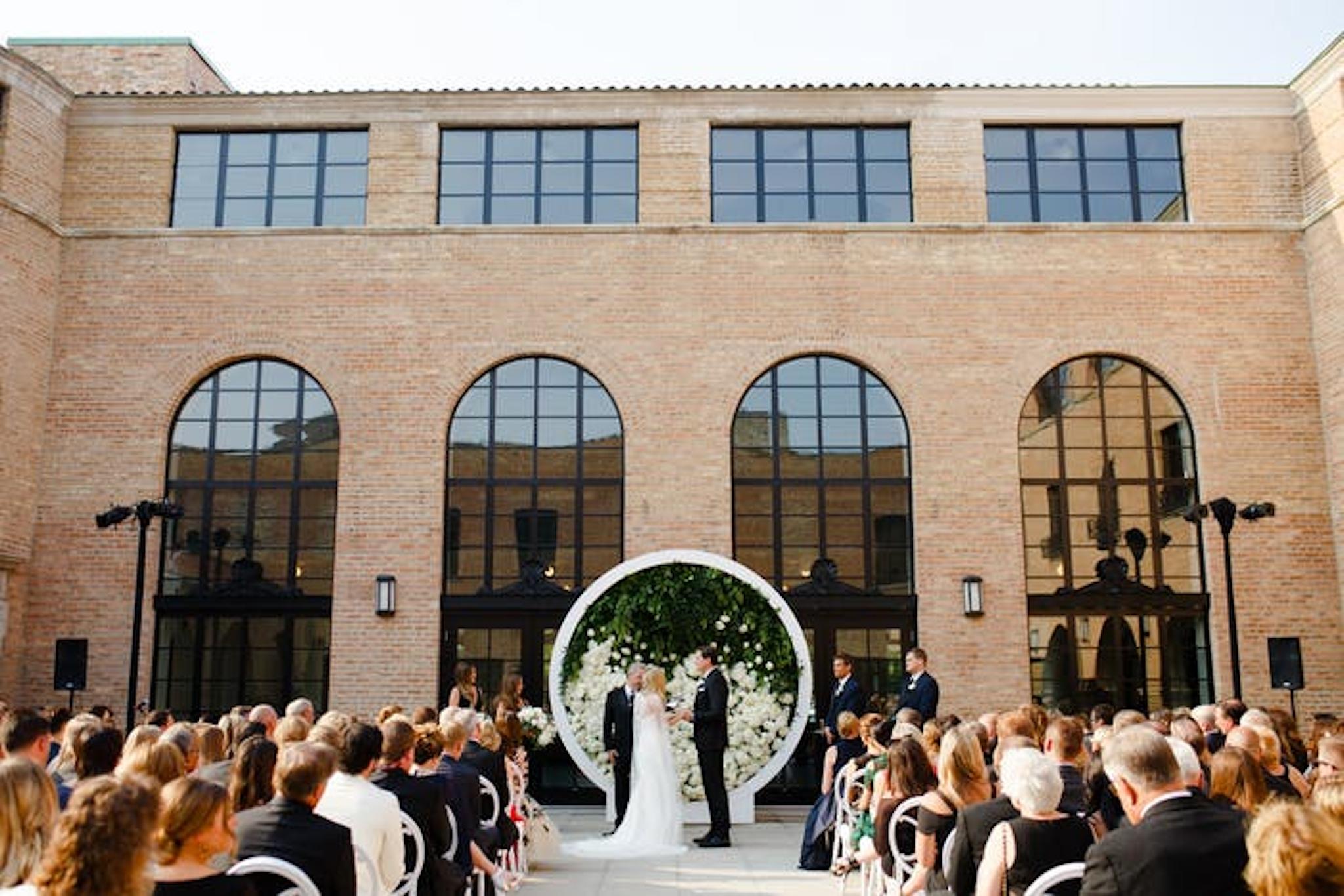 Wedding circular arch