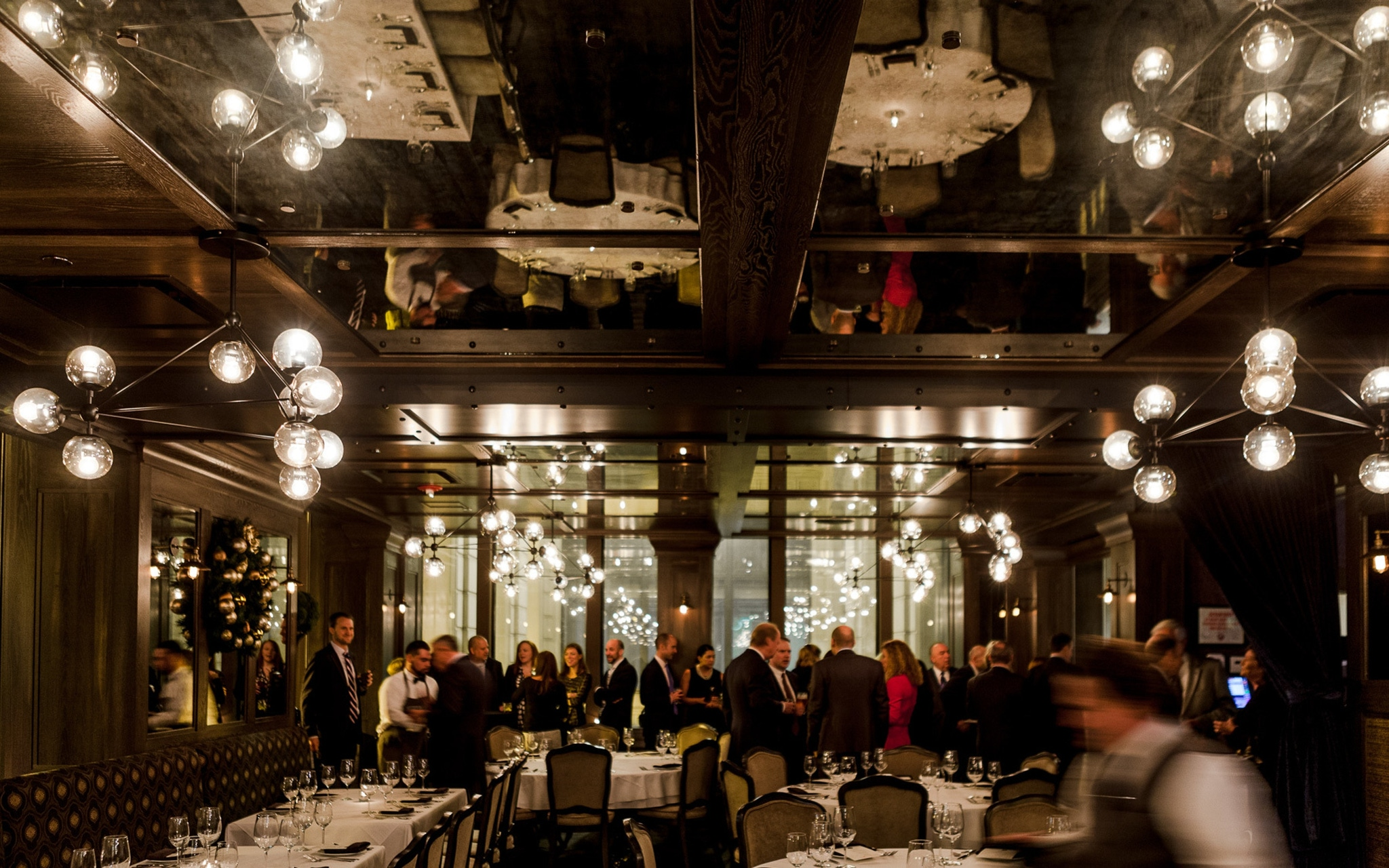 The North Private Dining Room at Prime & Provisions Chicago holiday event