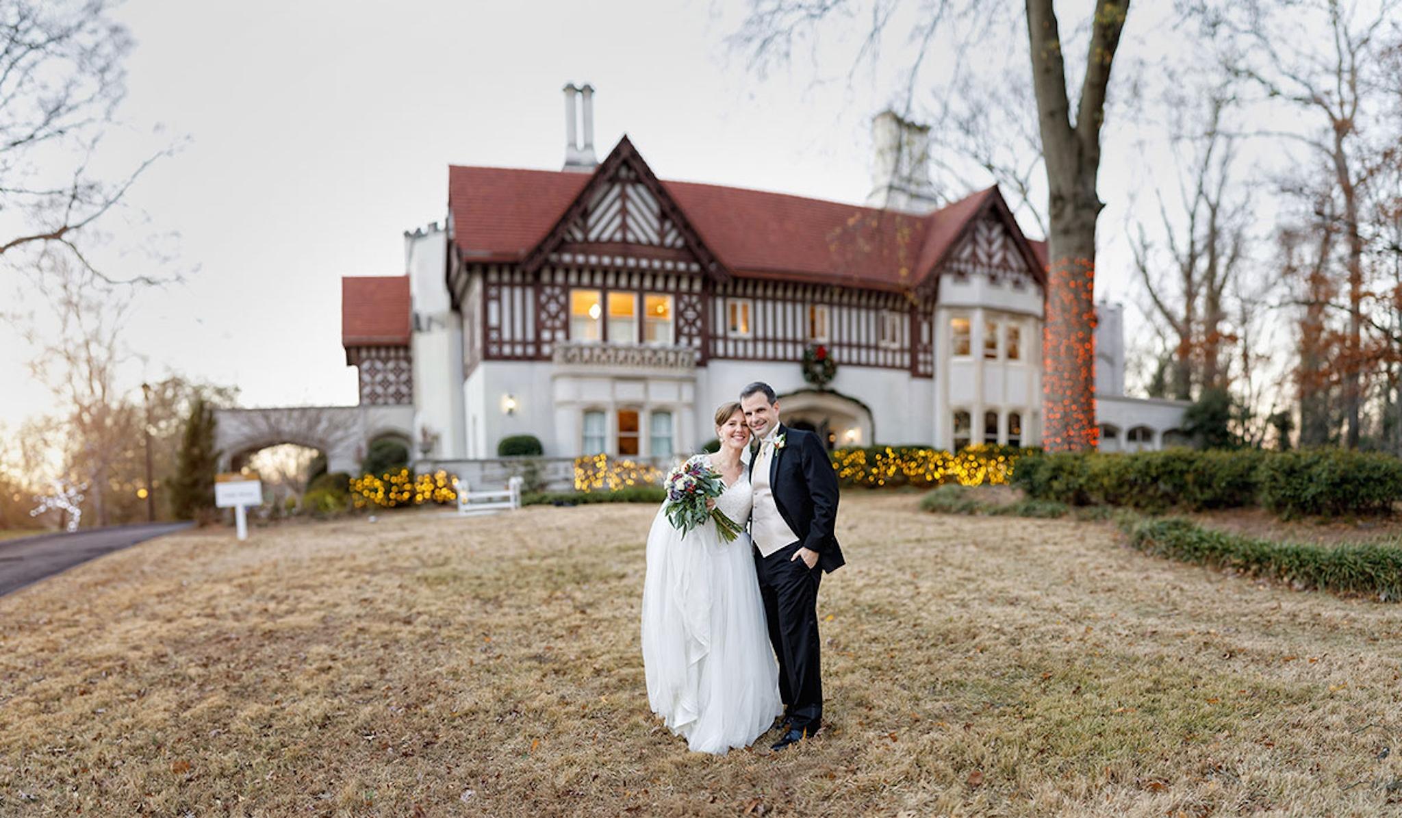 Callanwolde Fine Arts Center Atlanta wedding