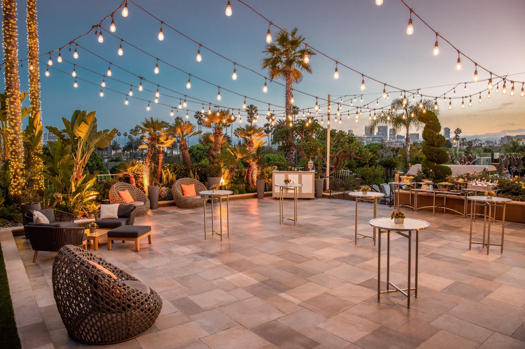 The Deck at Four Seasons Hotel at Beverly Hills