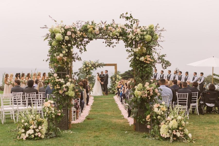 Luxe Events outdoor wedding