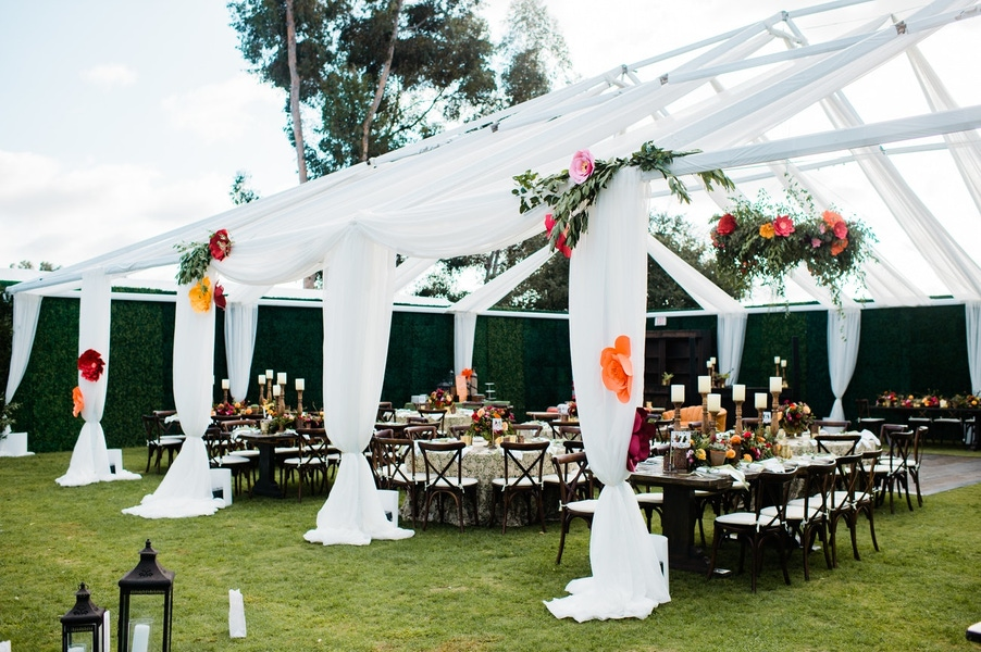 Everafter Events tented outdoor party