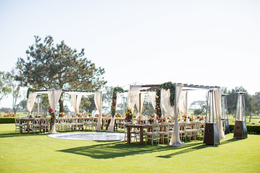 Couture Events California outdoor wedding tables