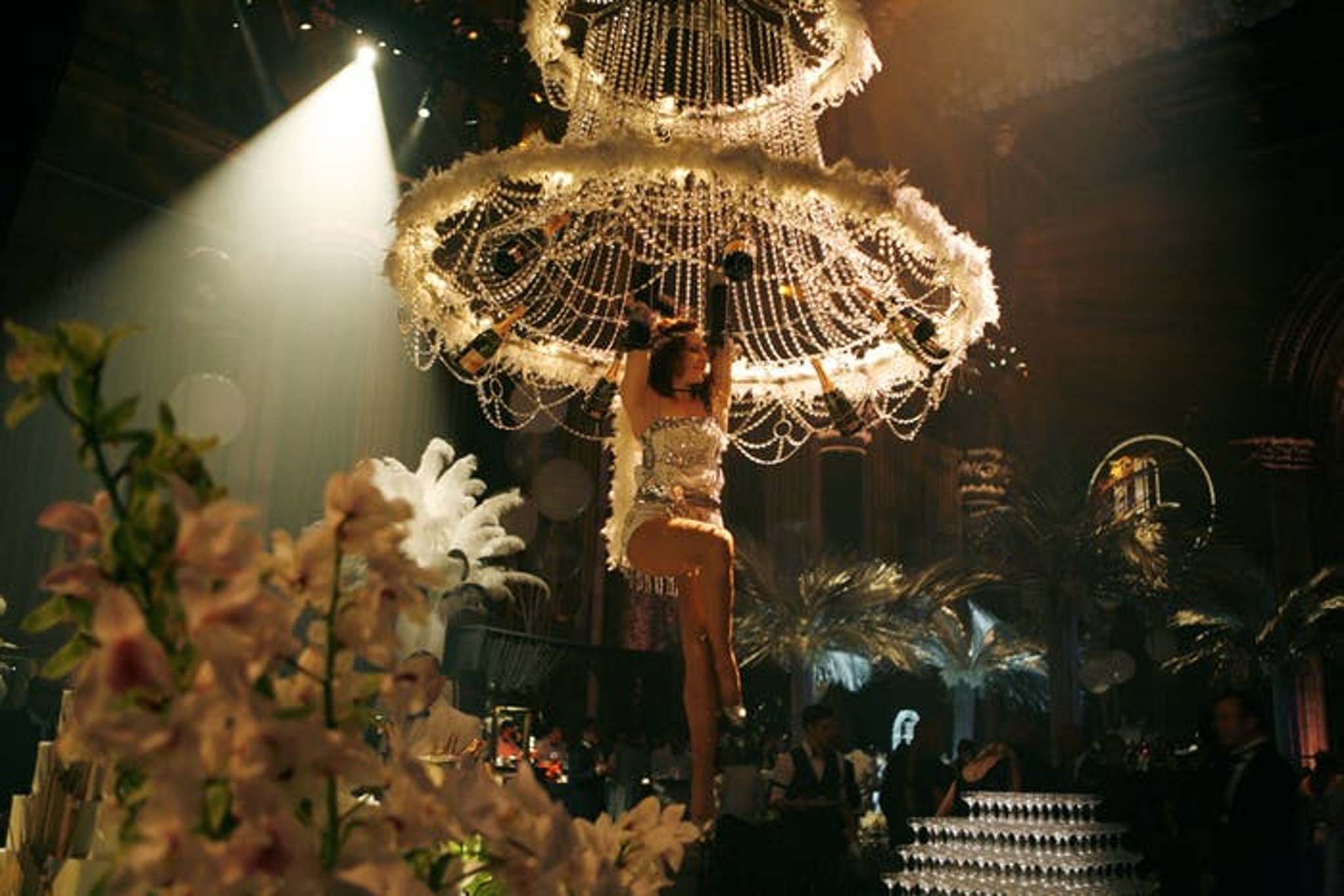 Gatsby themed party entertainment