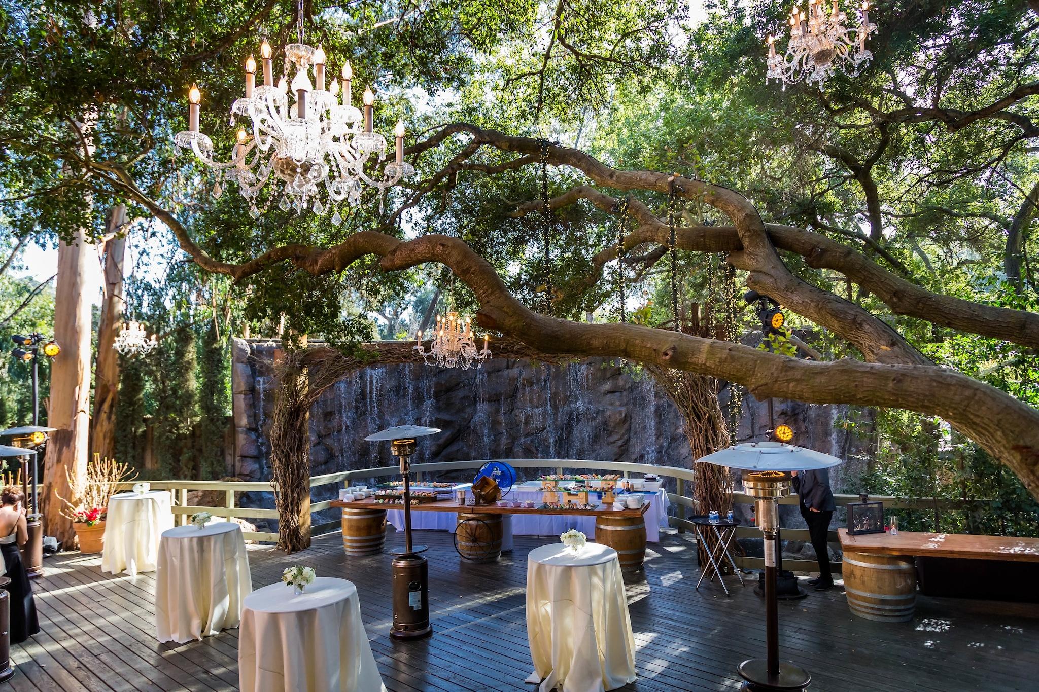 outdoor hanging chandeliers