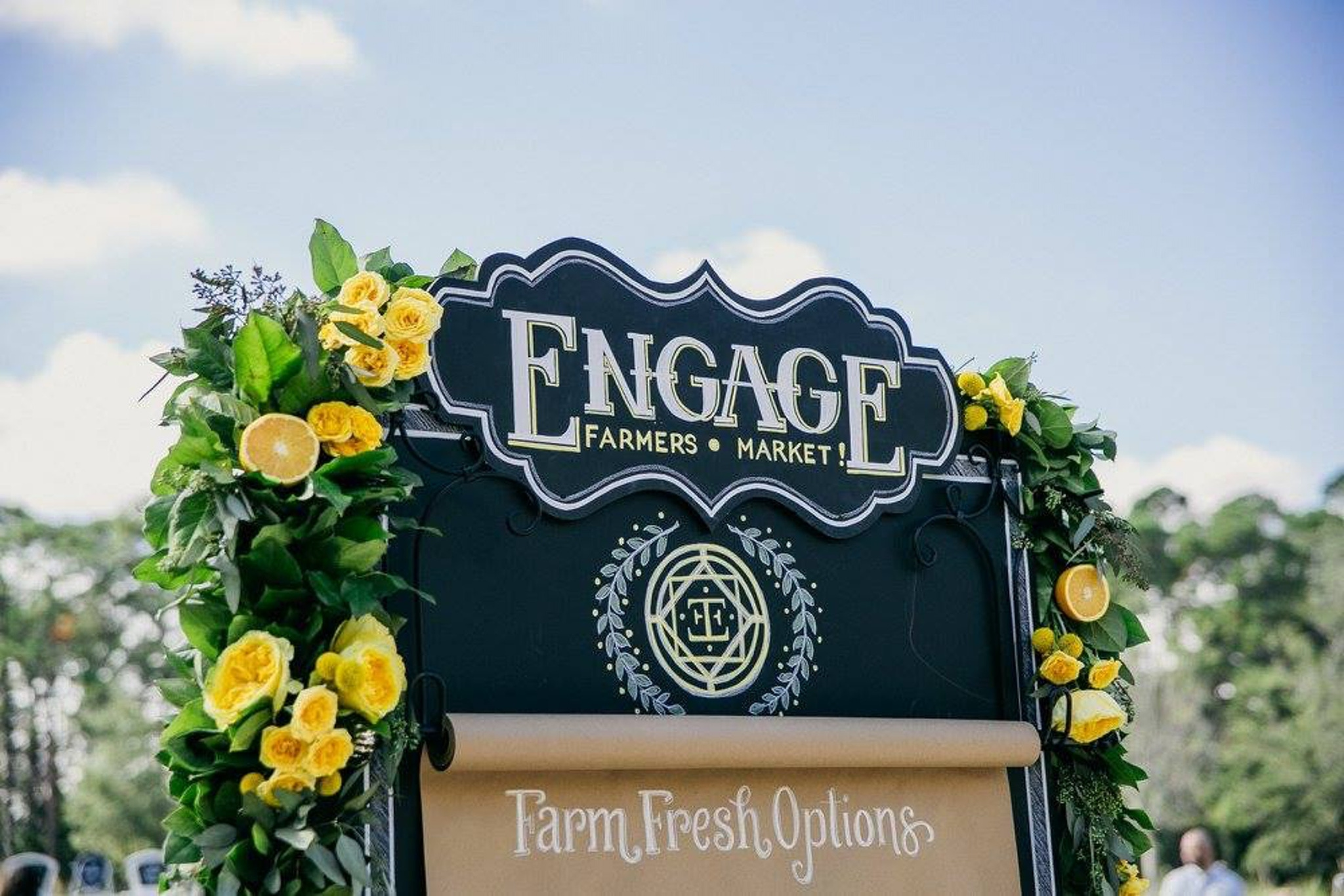 Engage sign