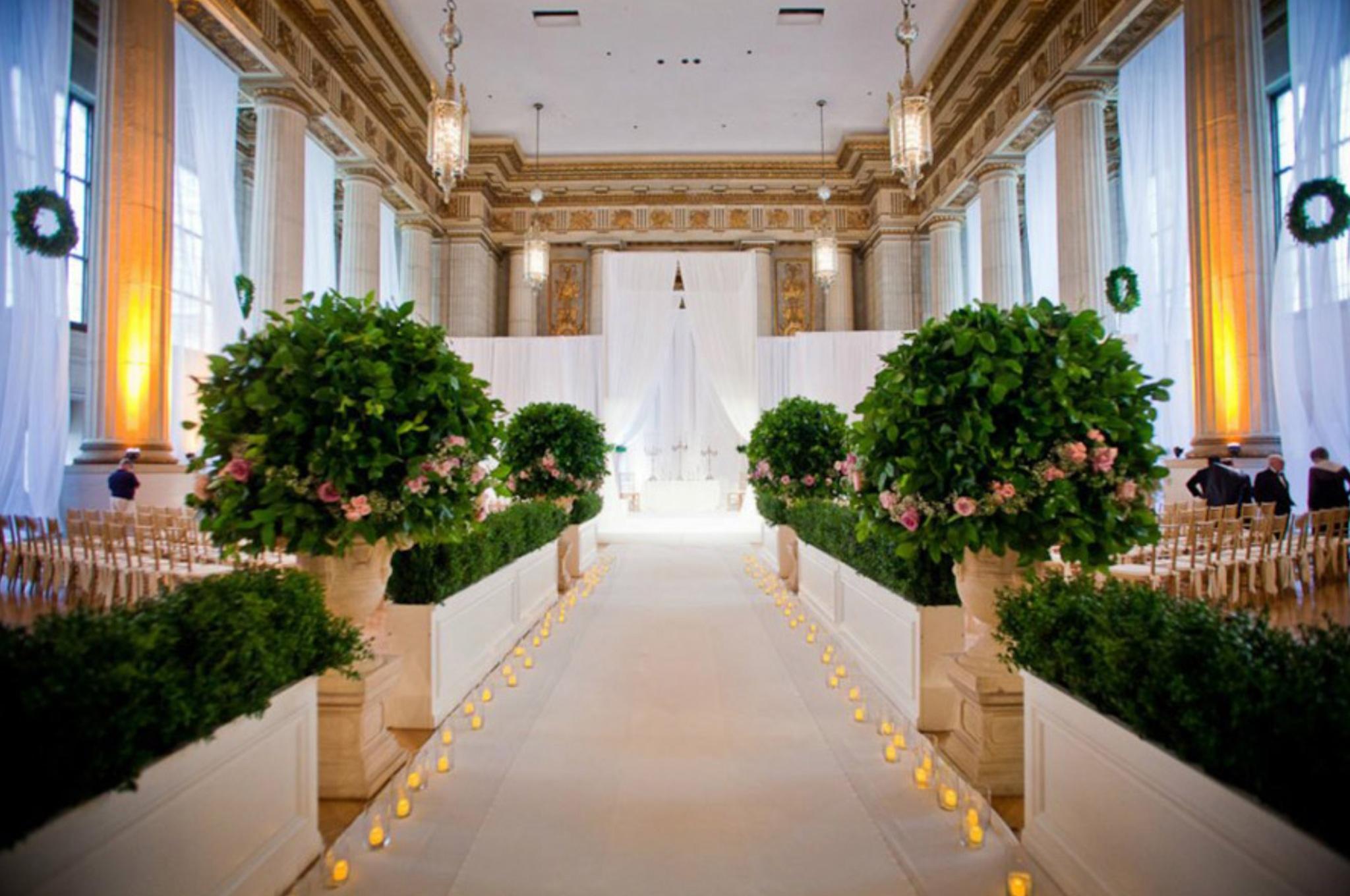 elegant wedding ceremony