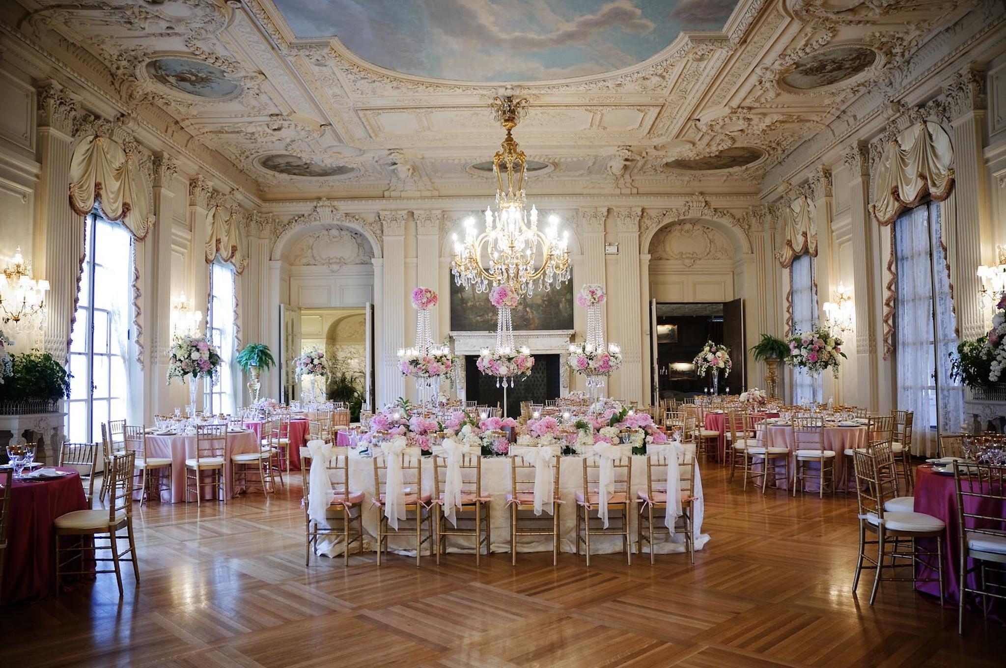 old fashioned ballroom