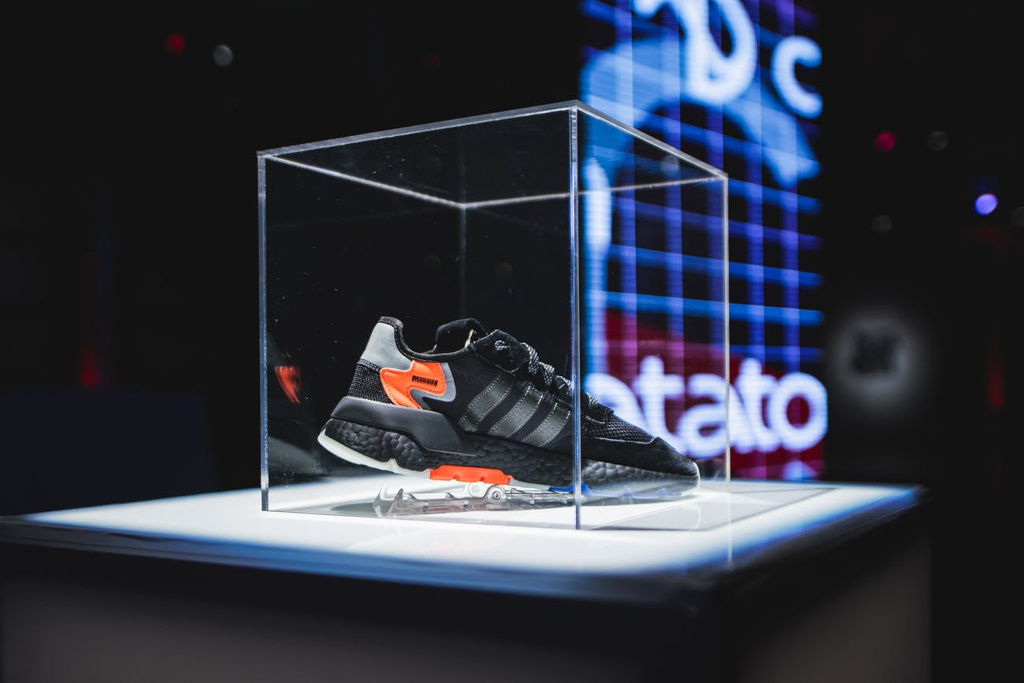 Adidas Night Jogger sneakers showcased at launch party in Chicago