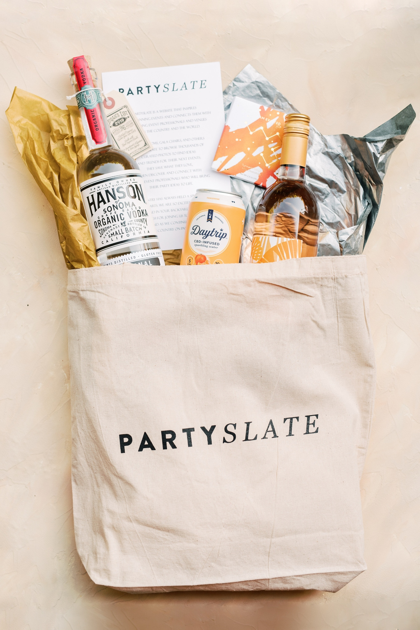 PartySlate goodie bags