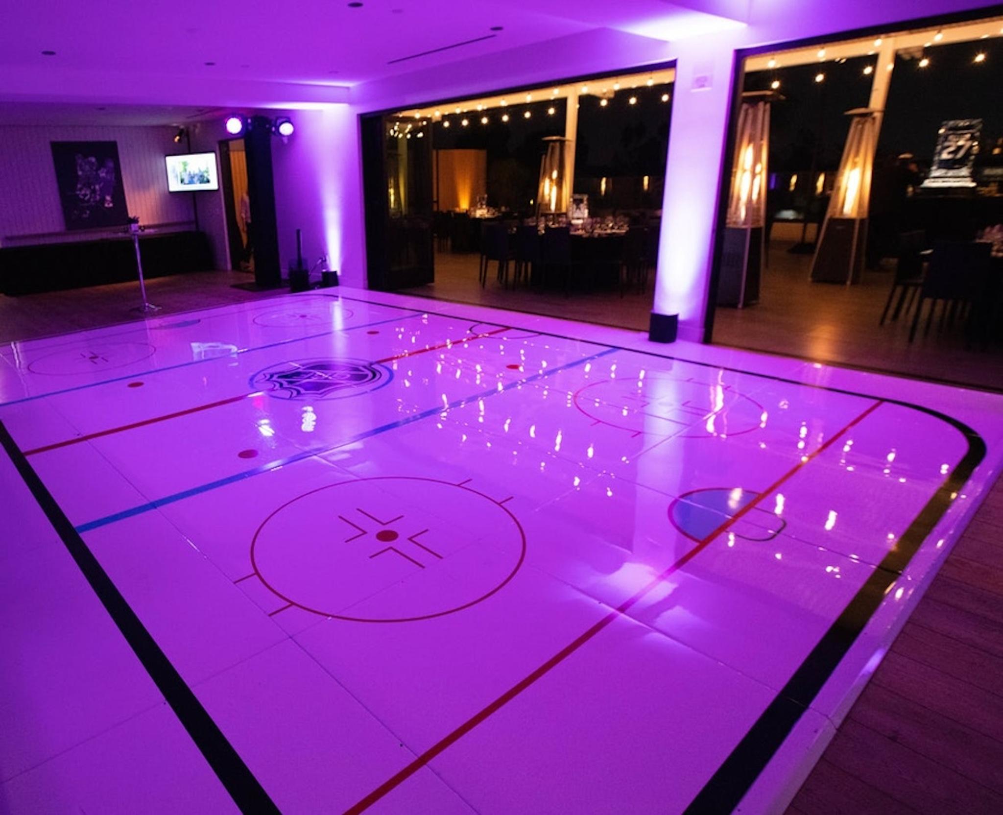 ice rink mitzvah venue