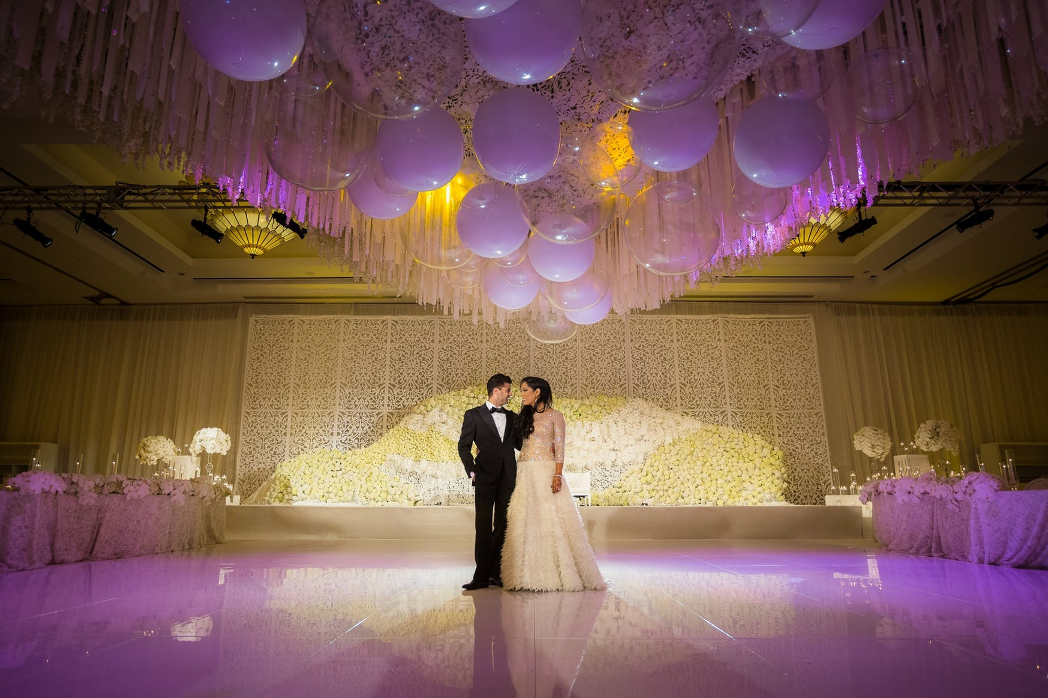 10 Wedding Ceiling Decorations That Will Wow Your Guests Partyslate