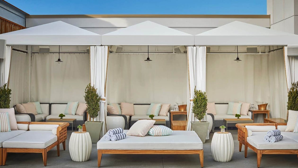 Pool Cabana at Pendry San Diego   PartySlate