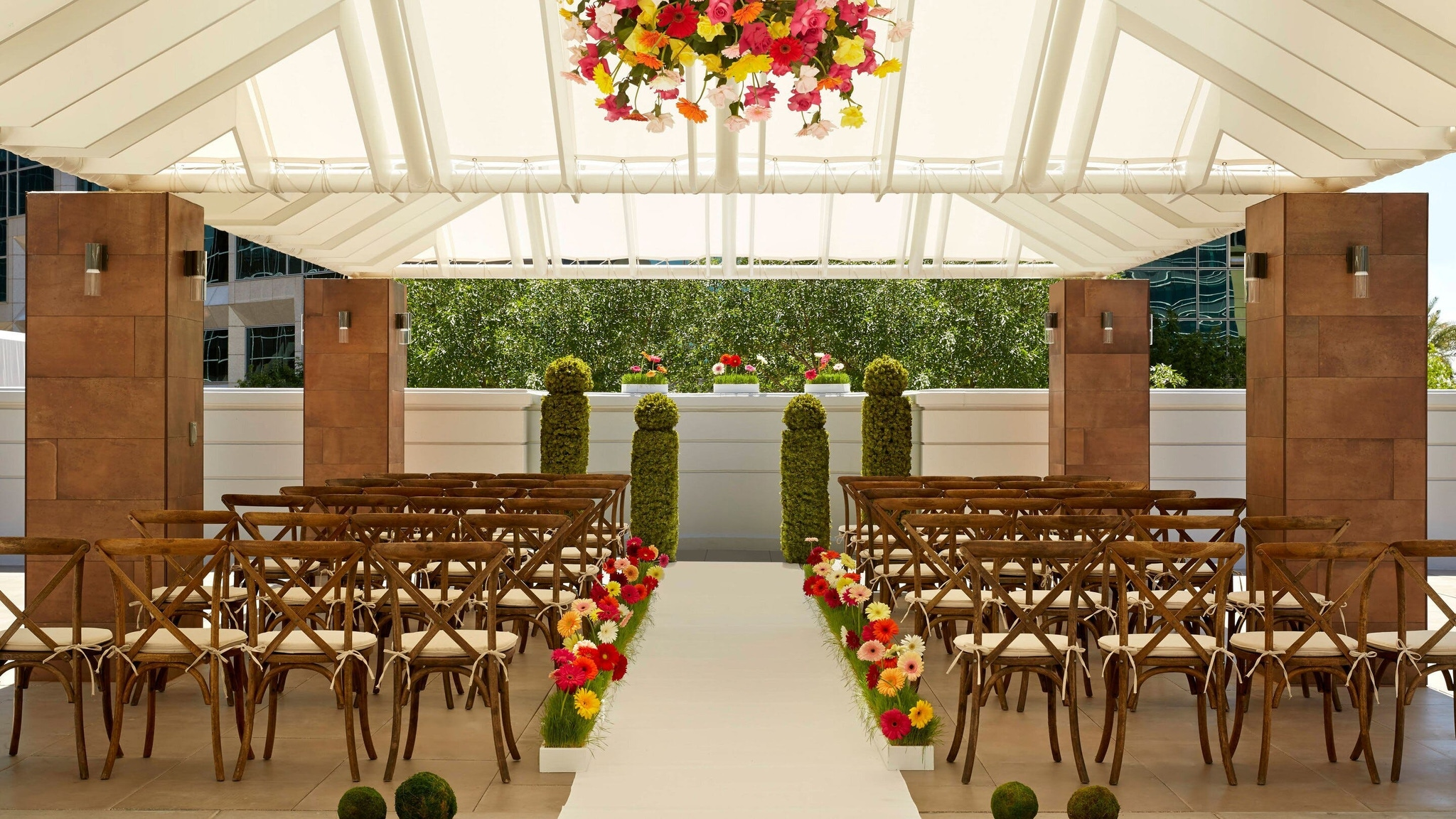 wedding ceremony venue at The Camby, Autograph Collection